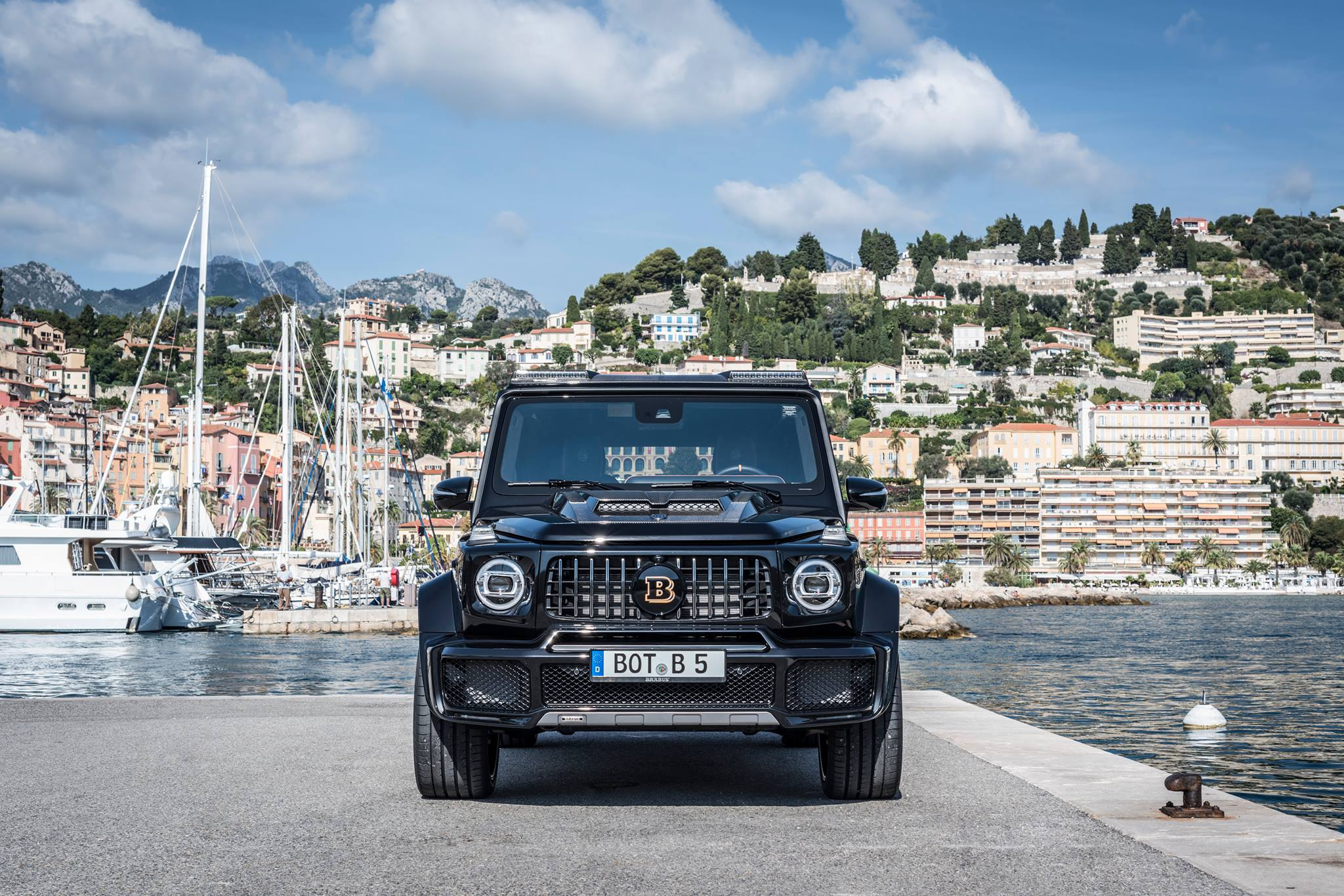 2019 Mercedes-AMG G63 Tuned by Brabus Makes 700 HP - autoevolution