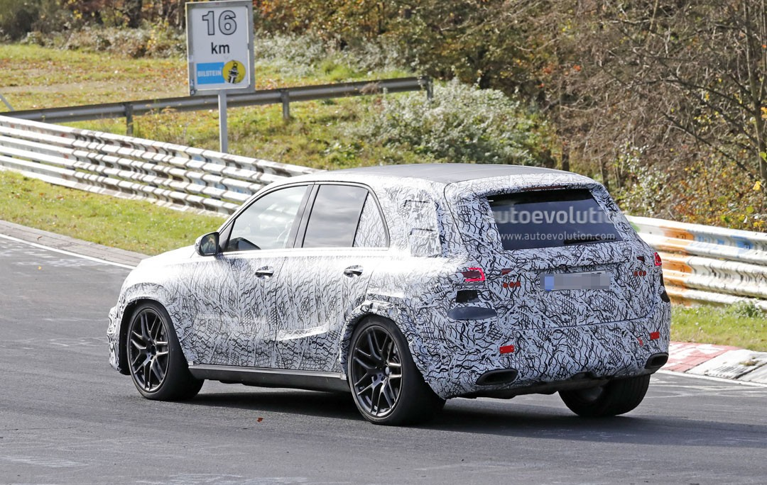 2019 mercedes-amg gle63 burns rubber on the nurburgring ahead of launch