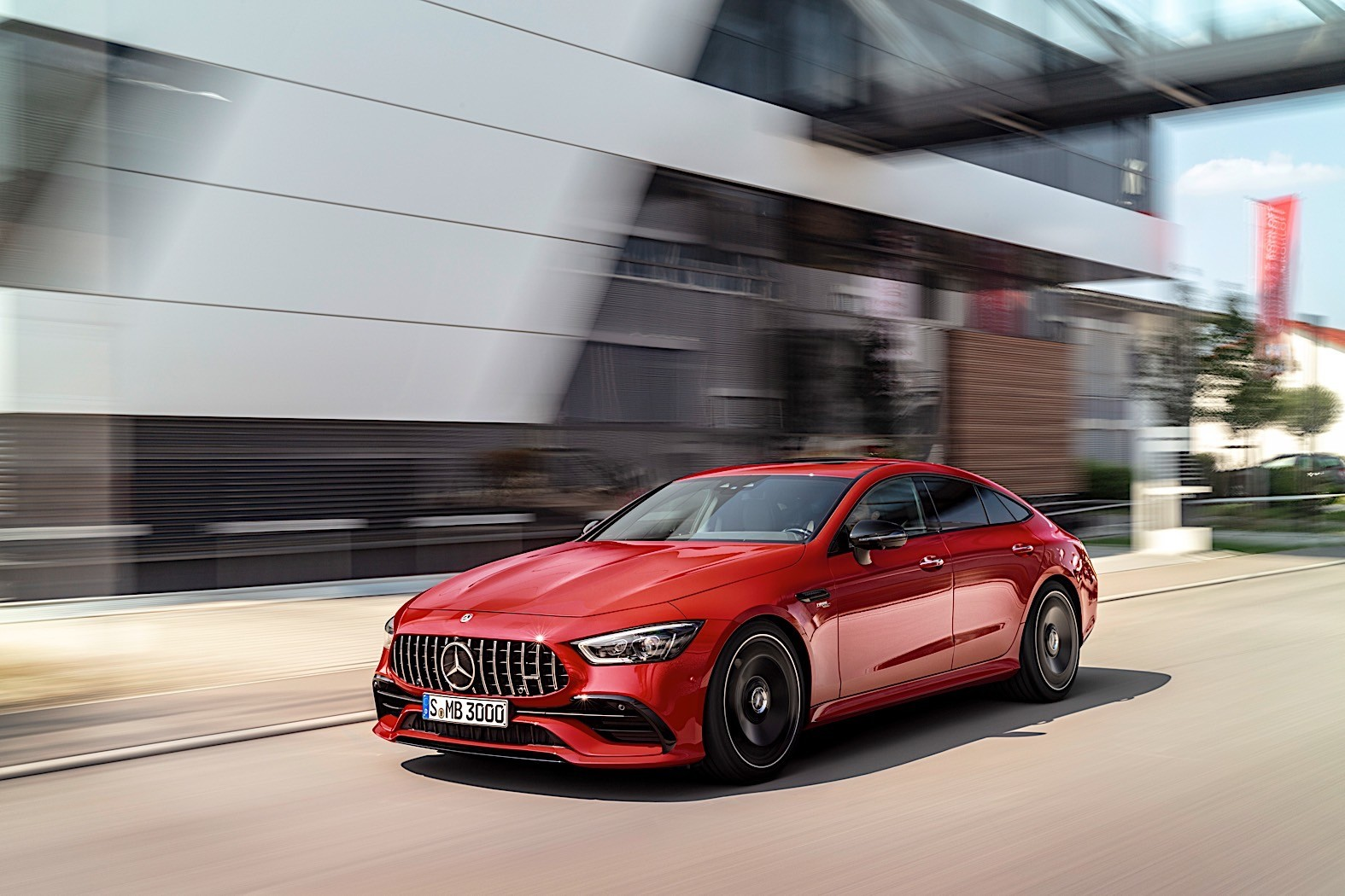 2019 Mercedes-AMG GT 4-Door Coupe Get New Entry Engine ...