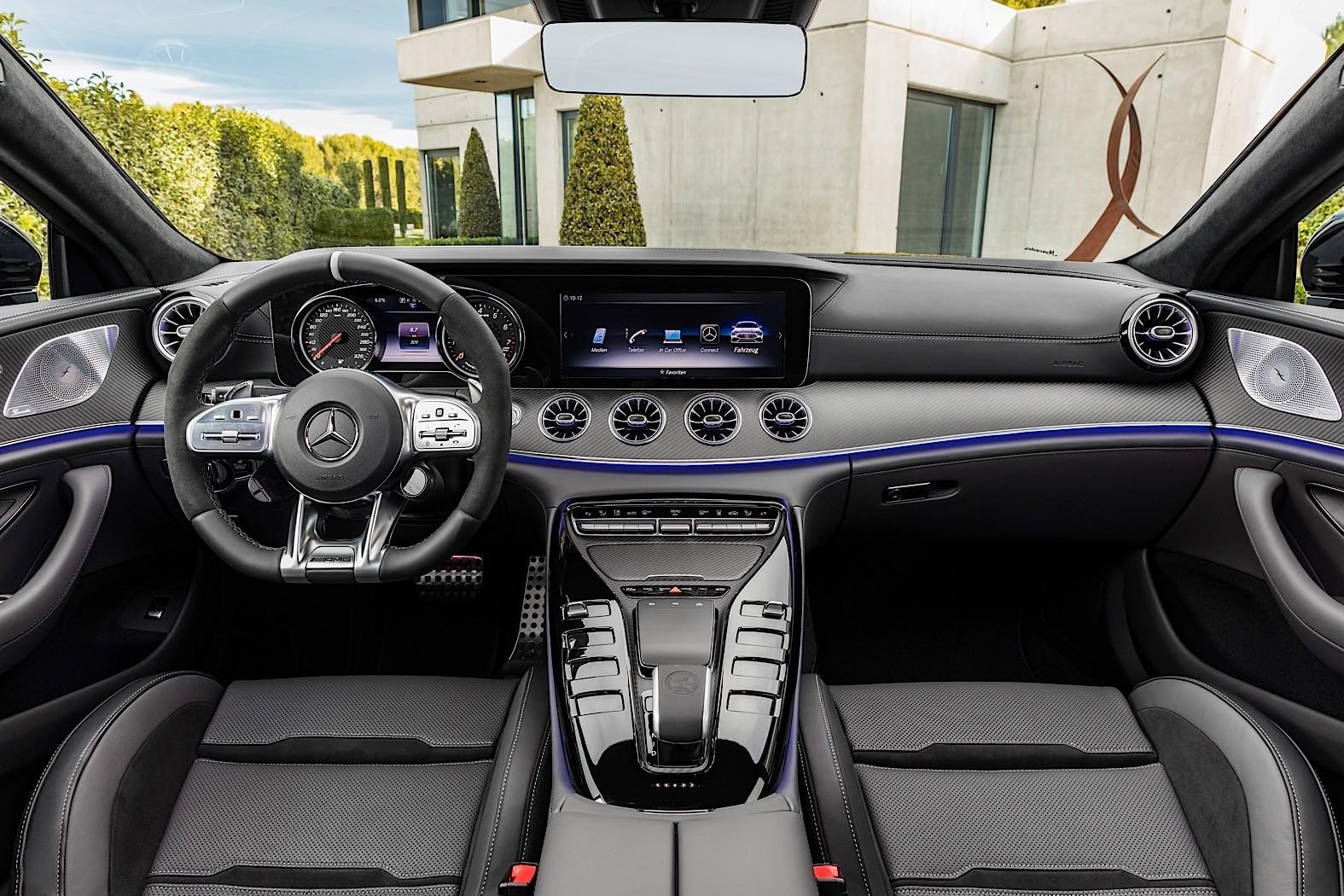 2019 mercedes amg gt 4 door coupe goes live in geneva autoevolution. Black Bedroom Furniture Sets. Home Design Ideas