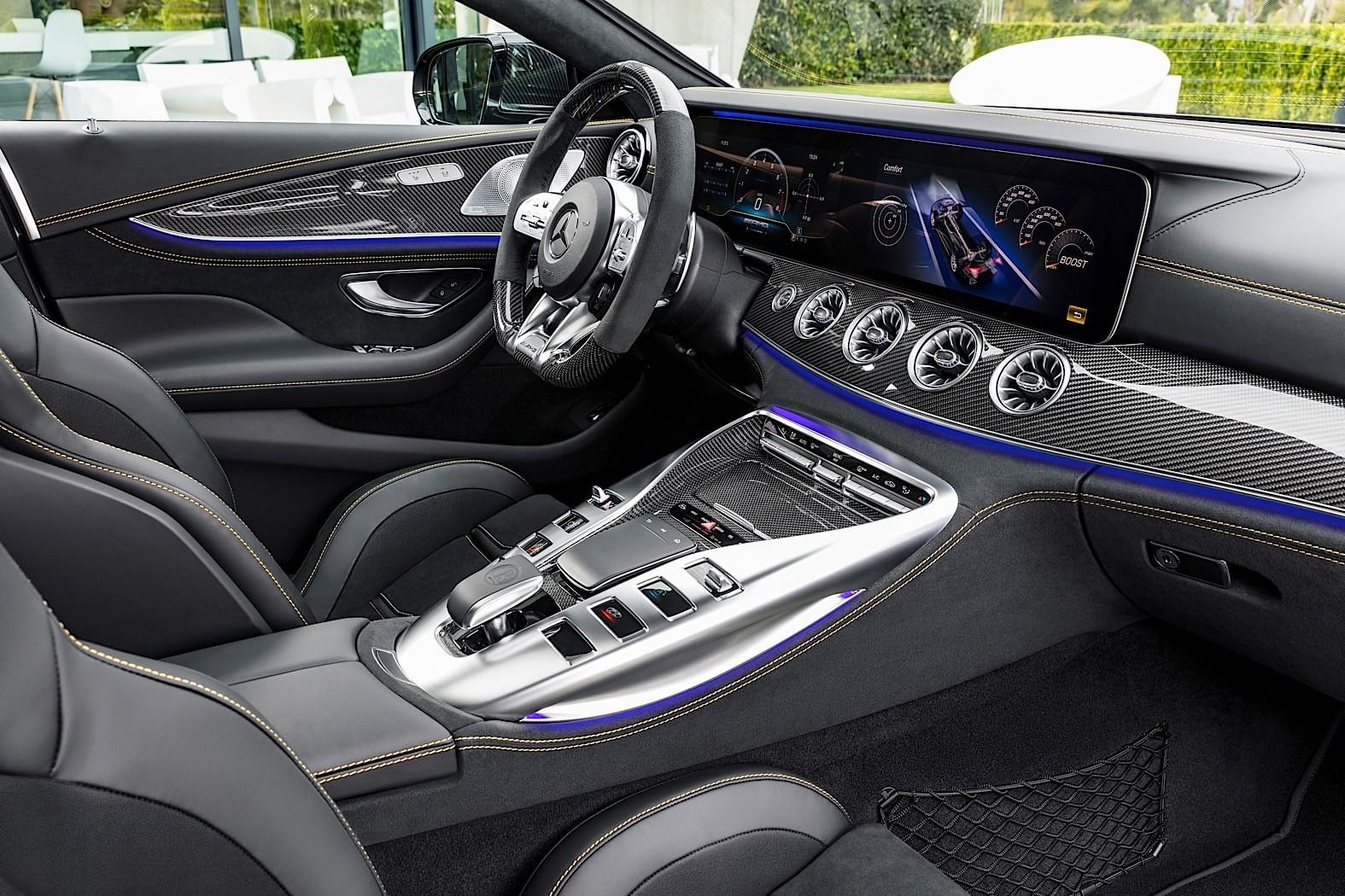 2019 Mercedes-AMG GT 4-Door Coupe Goes Live in Geneva ...