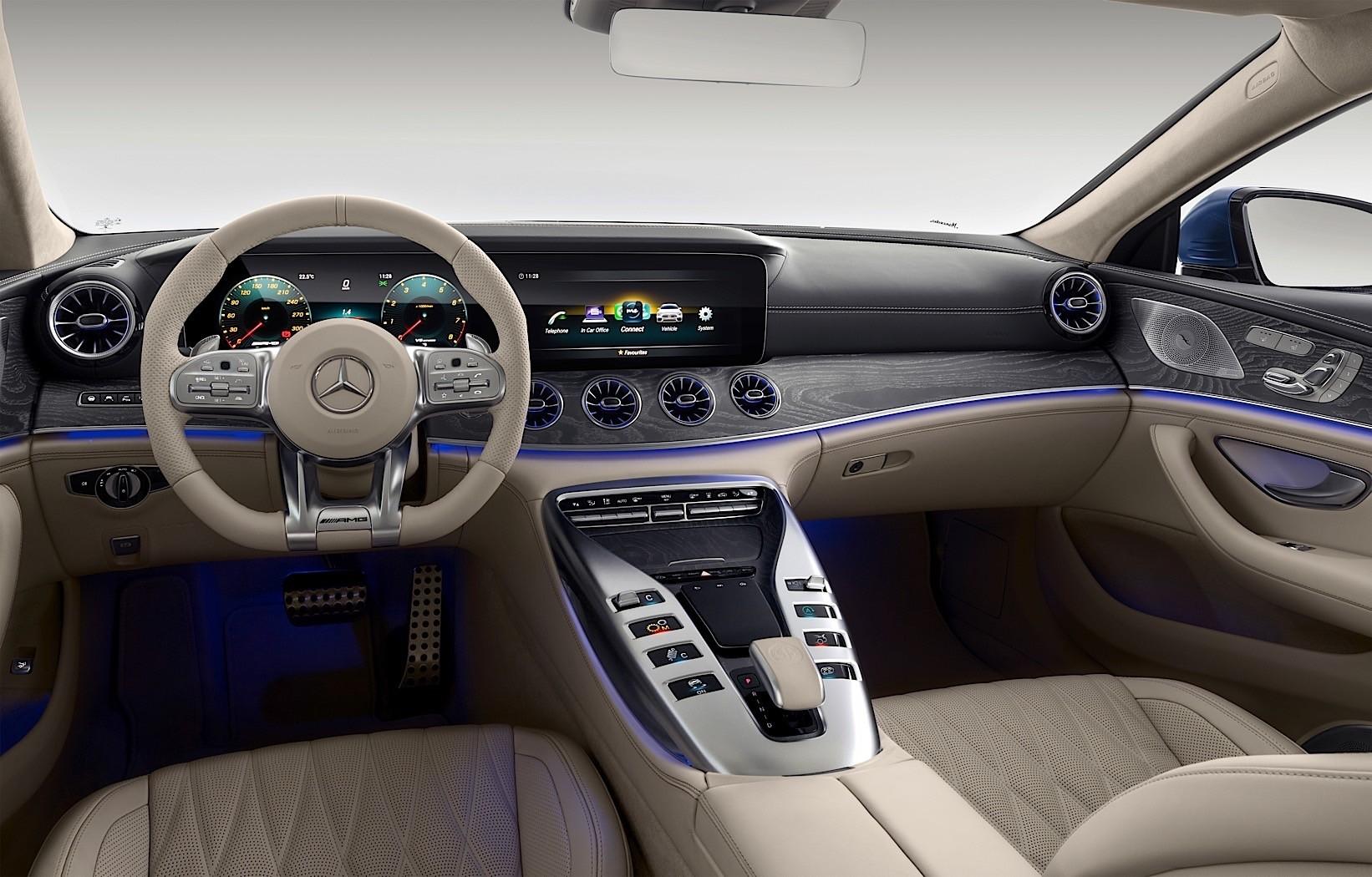 2019 Mercedes Amg Gt 4 Door Coupe Goes Live In Geneva Autoevolution