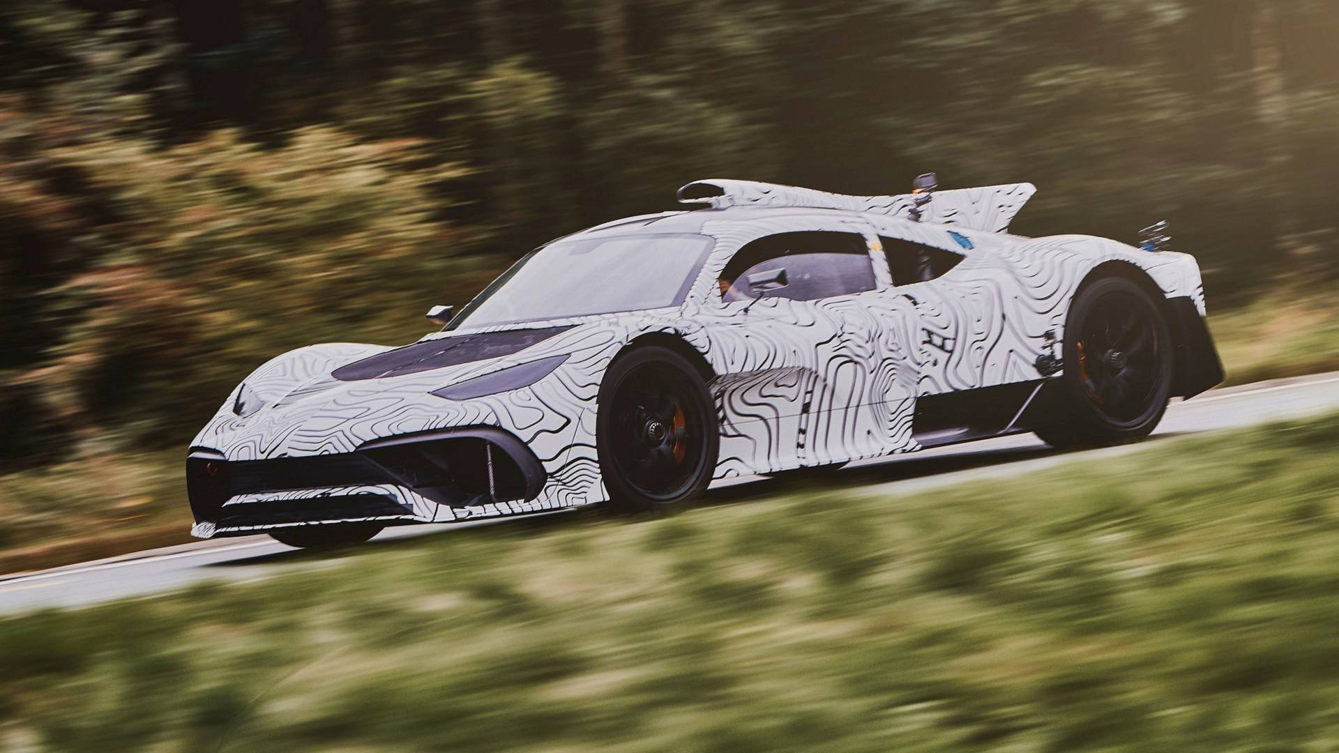 2019 mercedes amg project one now testing in england. Black Bedroom Furniture Sets. Home Design Ideas