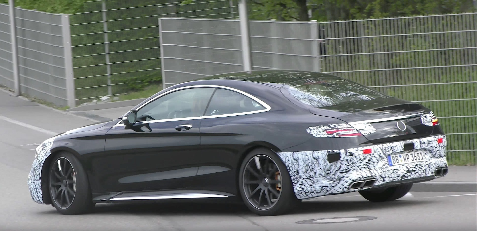 2019 Mercedes Amg S63 Coupe Prototype Gives A Glimpse Of Its New