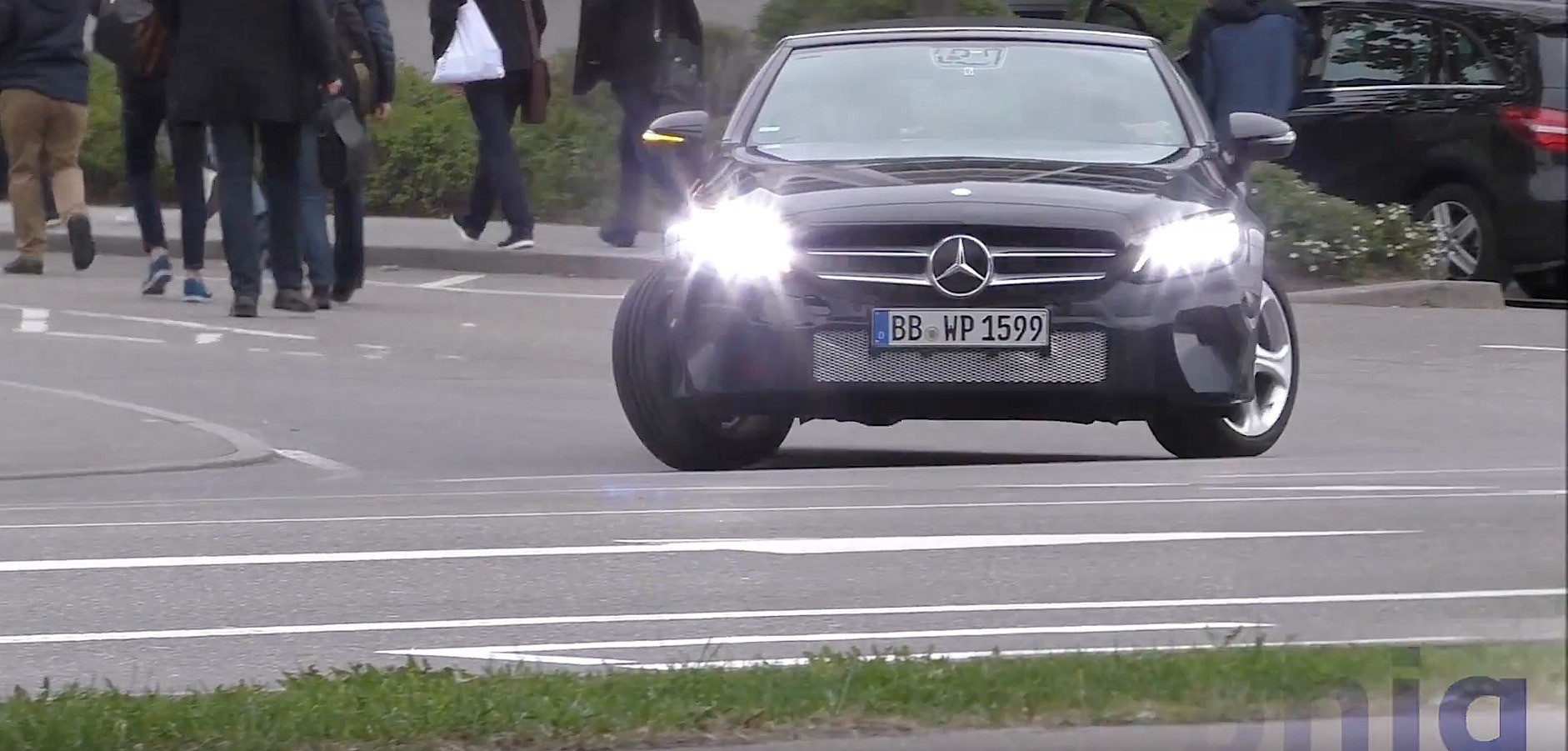 2019 mercedes-benz c-class cabrio facelift flaunts new multi-led headlights