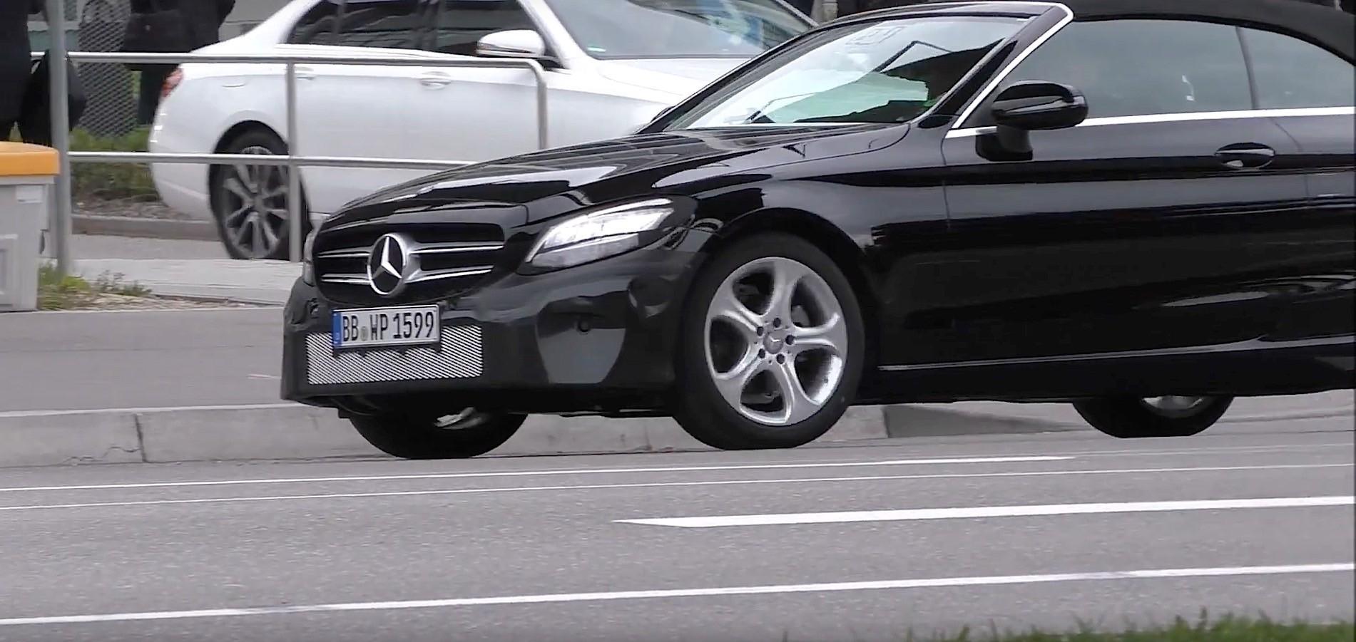 2019 Mercedes-Benz C-Class Cabrio Facelift Flaunts New Multi