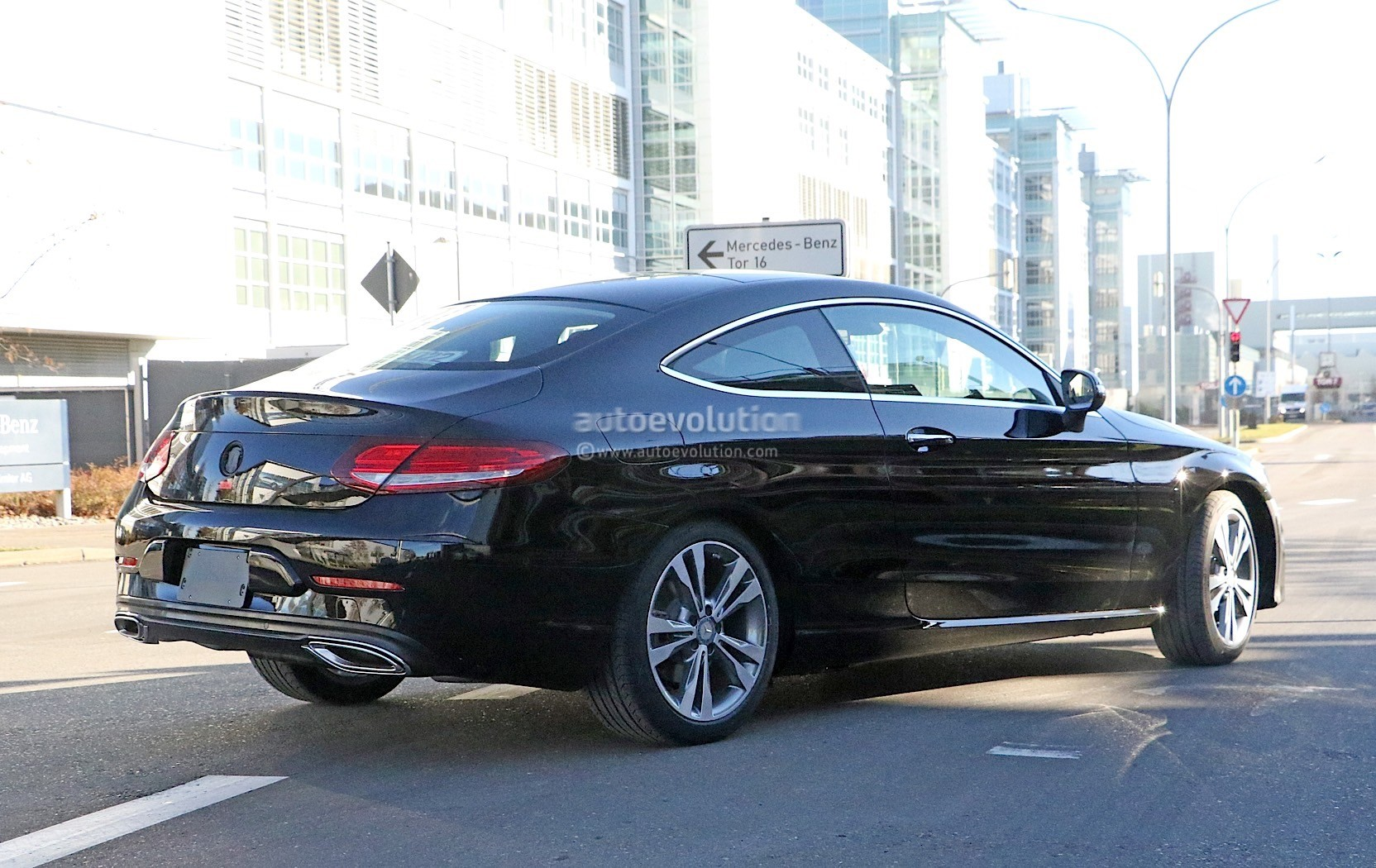 2019 Mercedes Benz C Class Coupe Facelift Shows All New