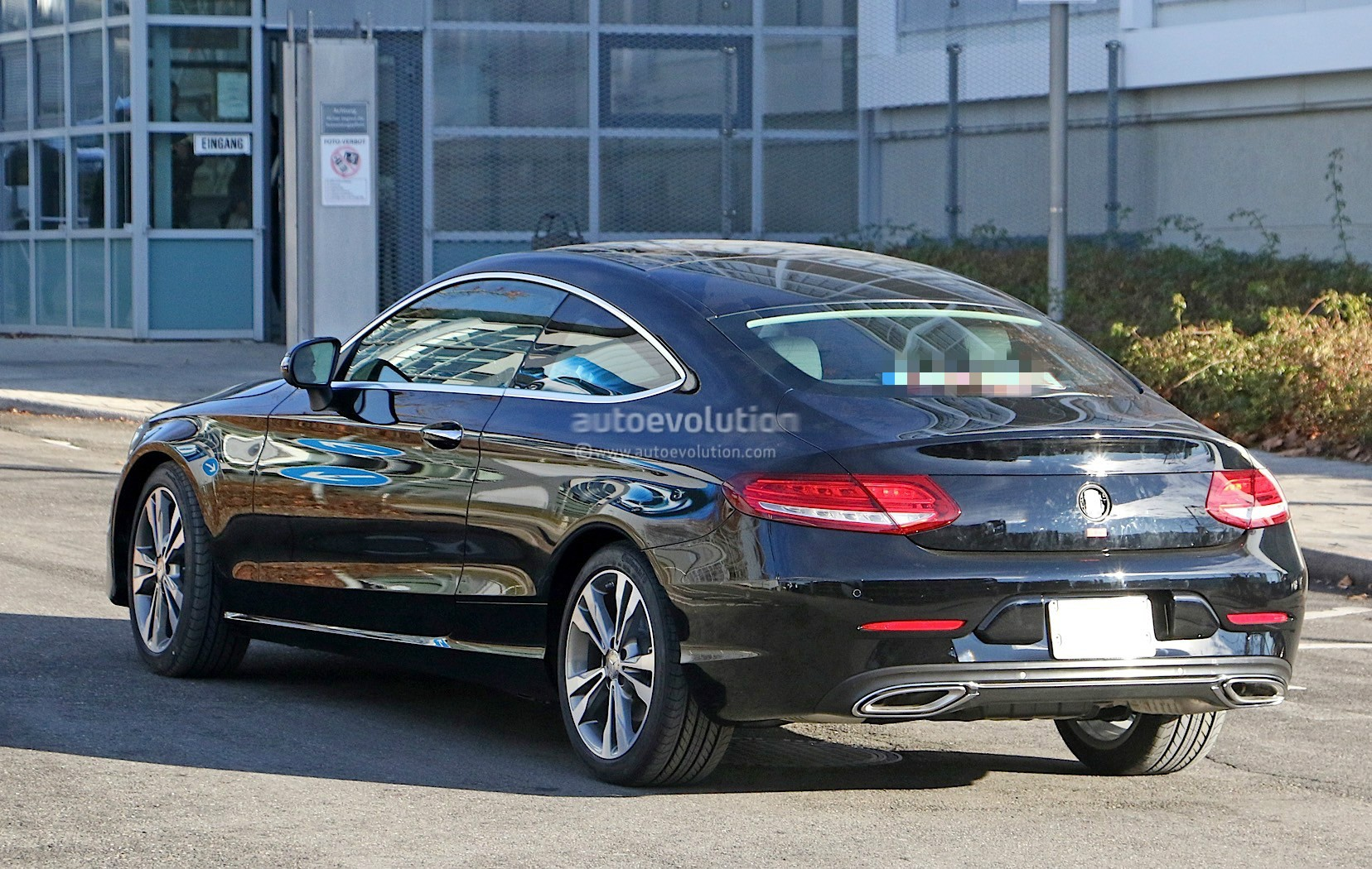 2019 mercedes benz c class coupe facelift shows all new led headlamps autoevolution - Mercedes c class coupe used ...