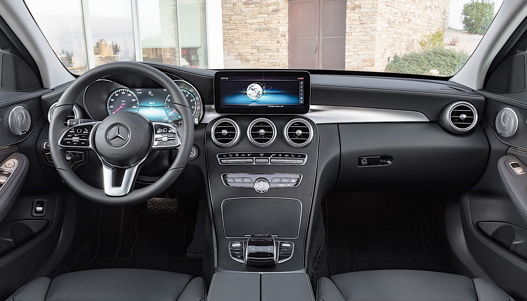 2019 mercedes benz c class sedan and wagon details and photos released autoevolution. Black Bedroom Furniture Sets. Home Design Ideas