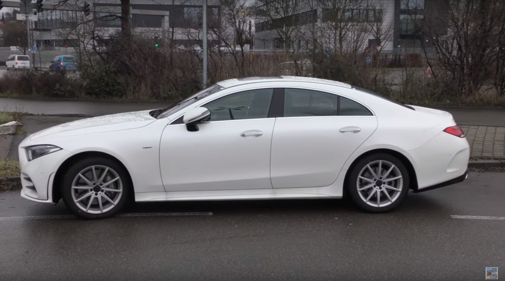 2018 Mercedes-Benz CLS 350 Looks Underwhelming In White