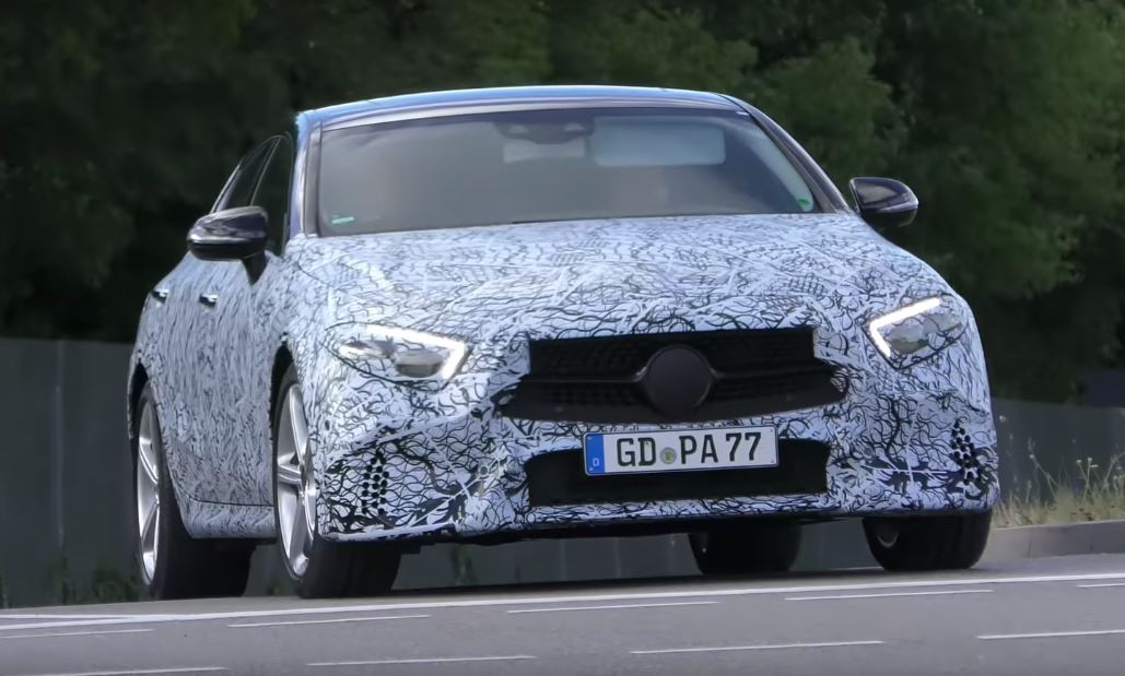 2019 mercedes benz cls cle prototype shows banana shape for Mercedes benz cle