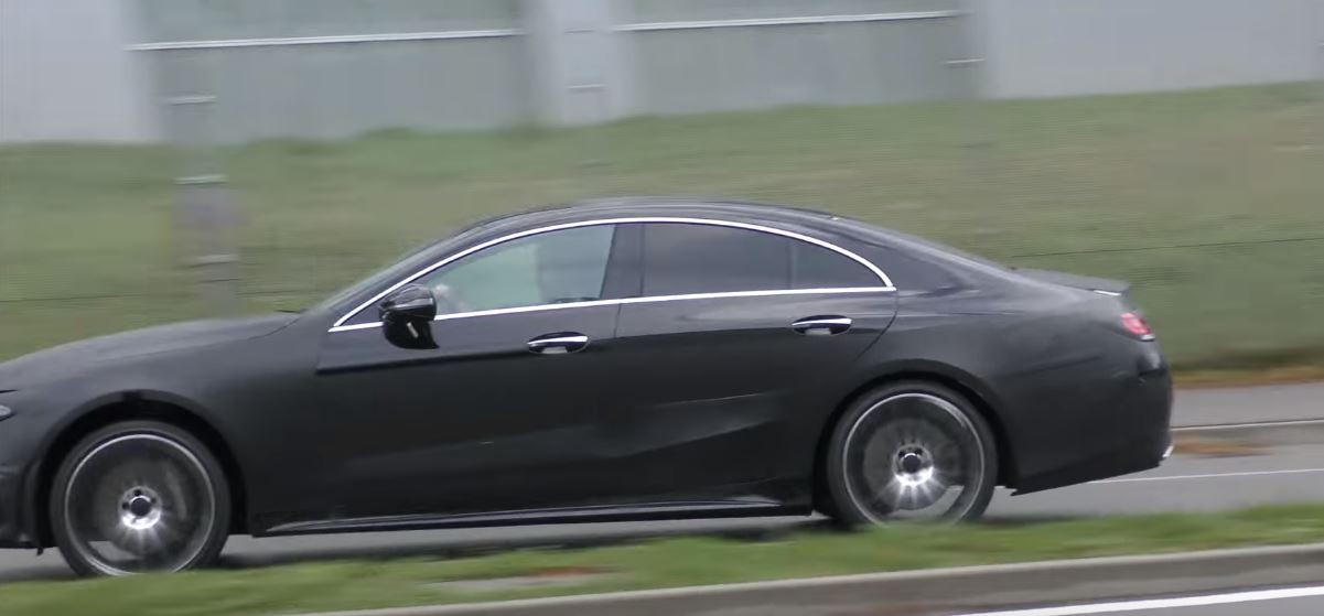 2019 mercedes benz cls cle prototype shows darth vader face ahead of la debut autoevolution. Black Bedroom Furniture Sets. Home Design Ideas