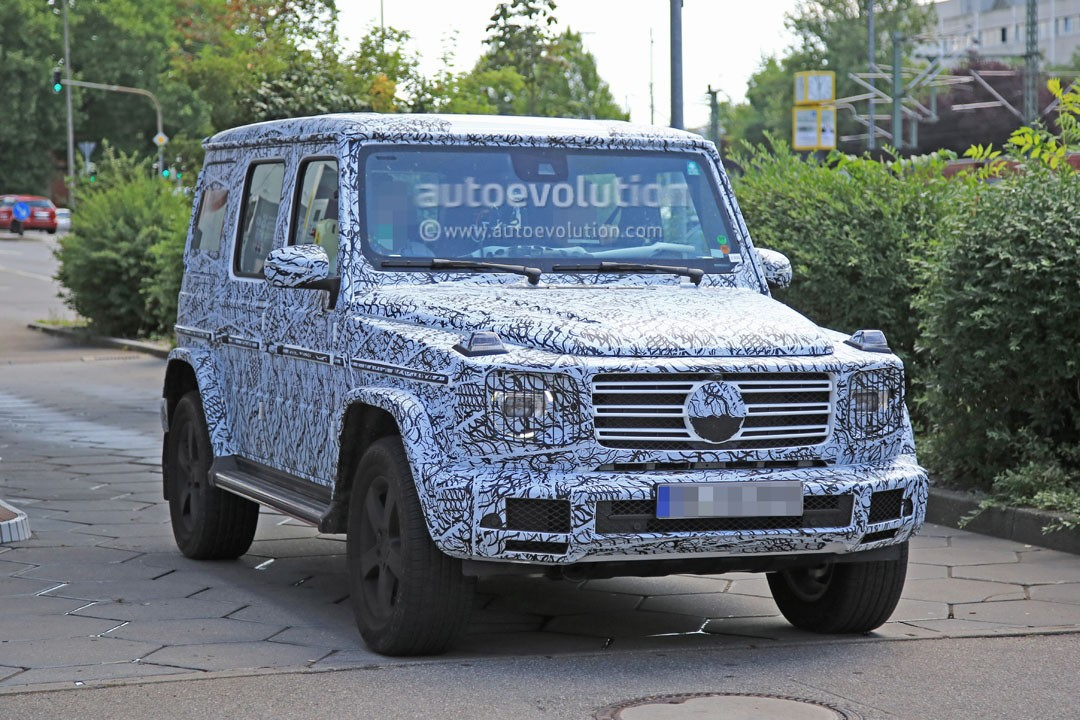 2019 mercedes benz g class w464 to be 160 kg 350 lbs lighter than w463 autoevolution. Black Bedroom Furniture Sets. Home Design Ideas