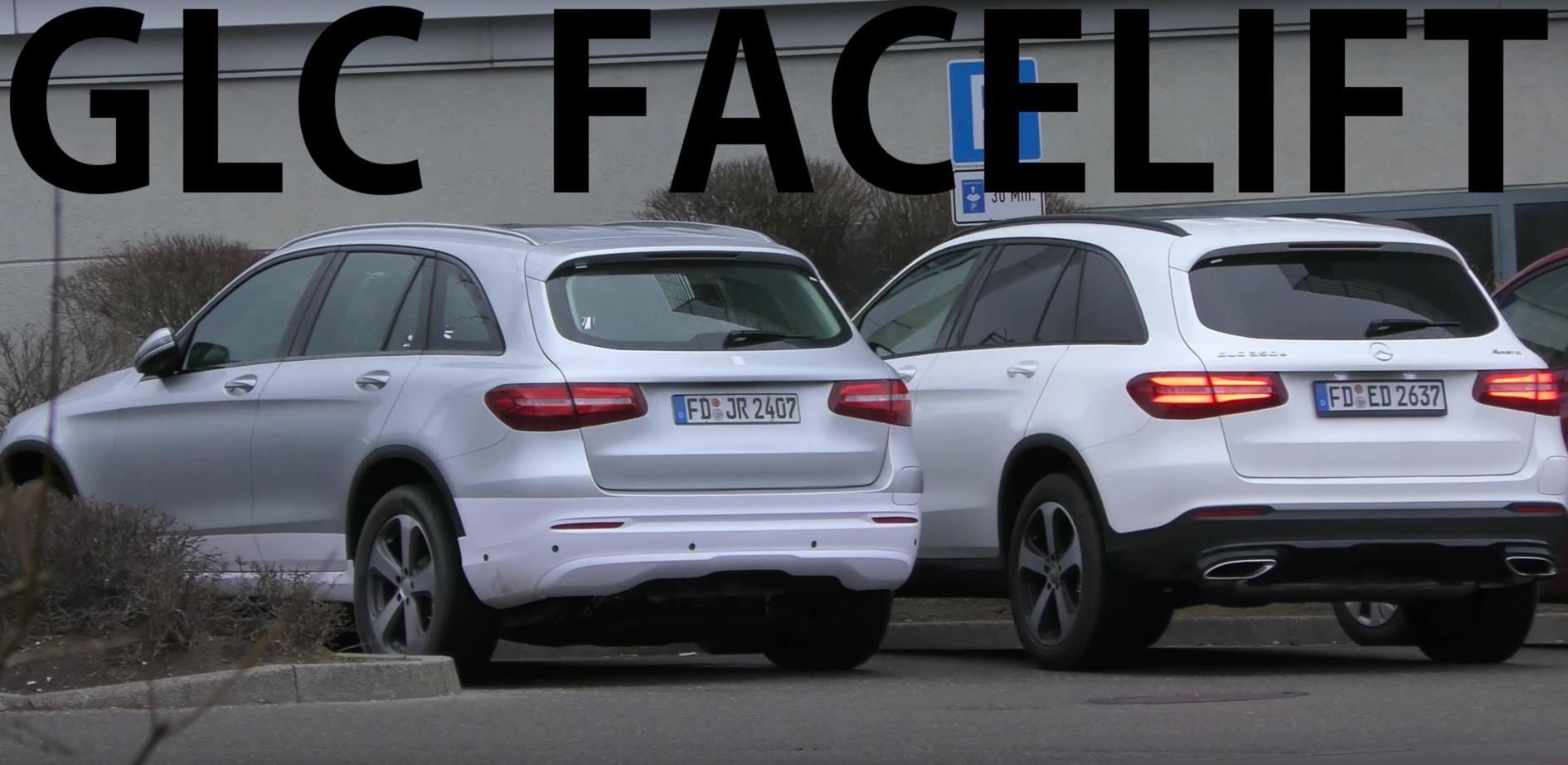 Mercedes benz eq electric suv spied next to glc makes for Mercedes benz eq release date