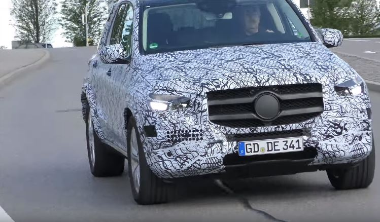 2019 mercedes benz gle spied suv getting more rugged look for Mercedes benz gle 2019