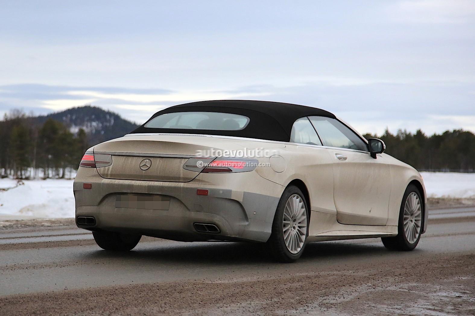 2019 Mercedes-Benz S-Class Cabriolet Begins Road Testing ...