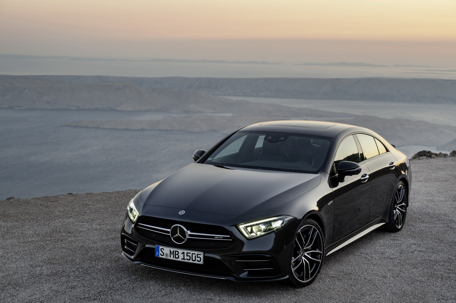 2019 mercedes benz cls class goes on sale from 69 200. Black Bedroom Furniture Sets. Home Design Ideas