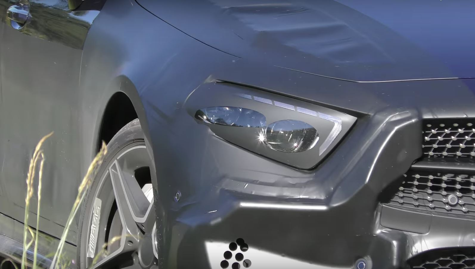 2018 Mercedes Benz Cls Spied Up Close Interior Included Autoevolution