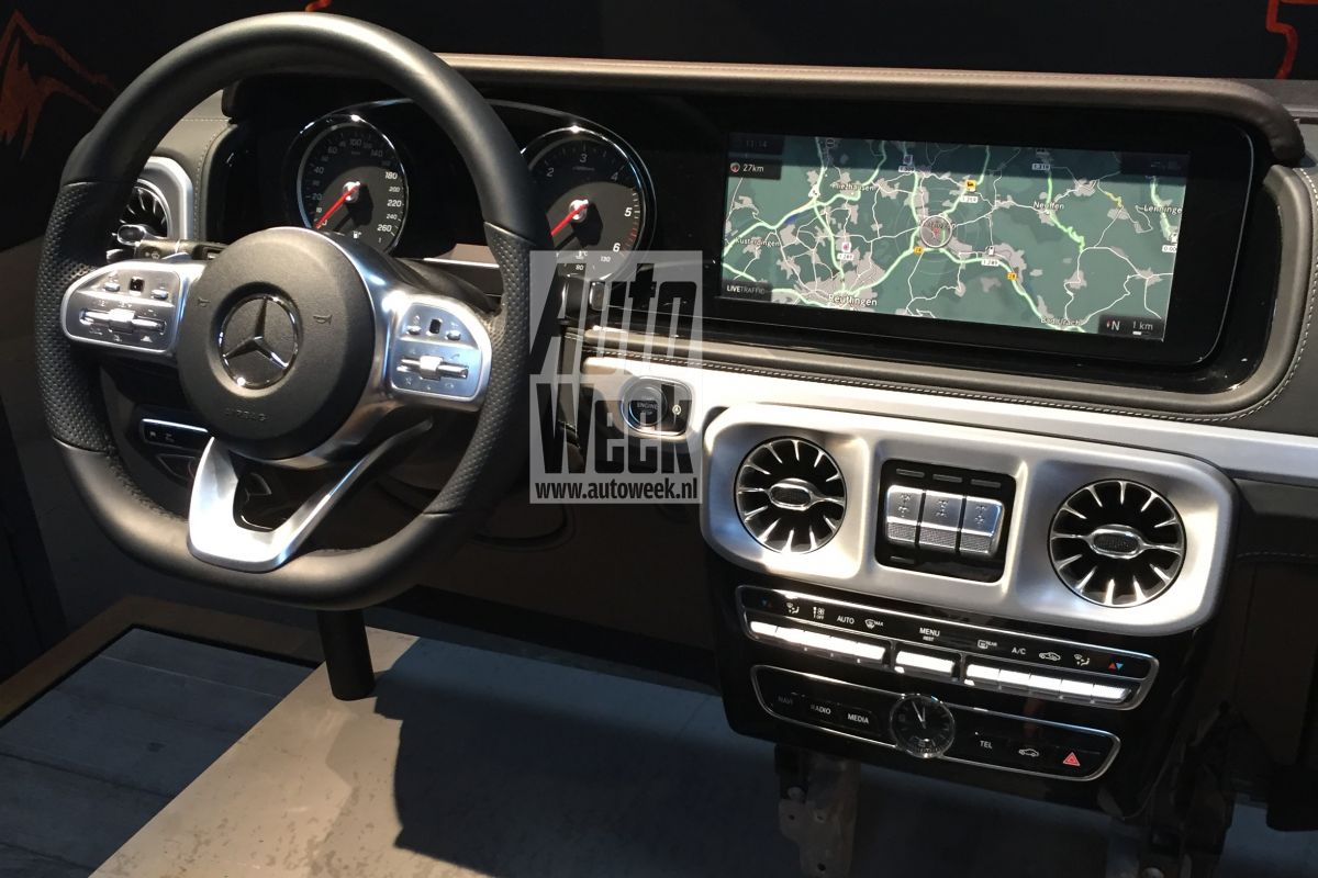 Let's Talk About the 2019 Mercedes-Benz G-Class Interior ...