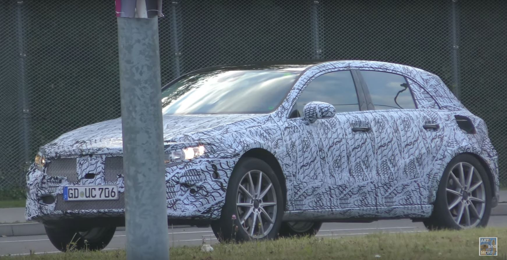 2020 Mercedes Gla Spotted Testing A Class Underpinnings At