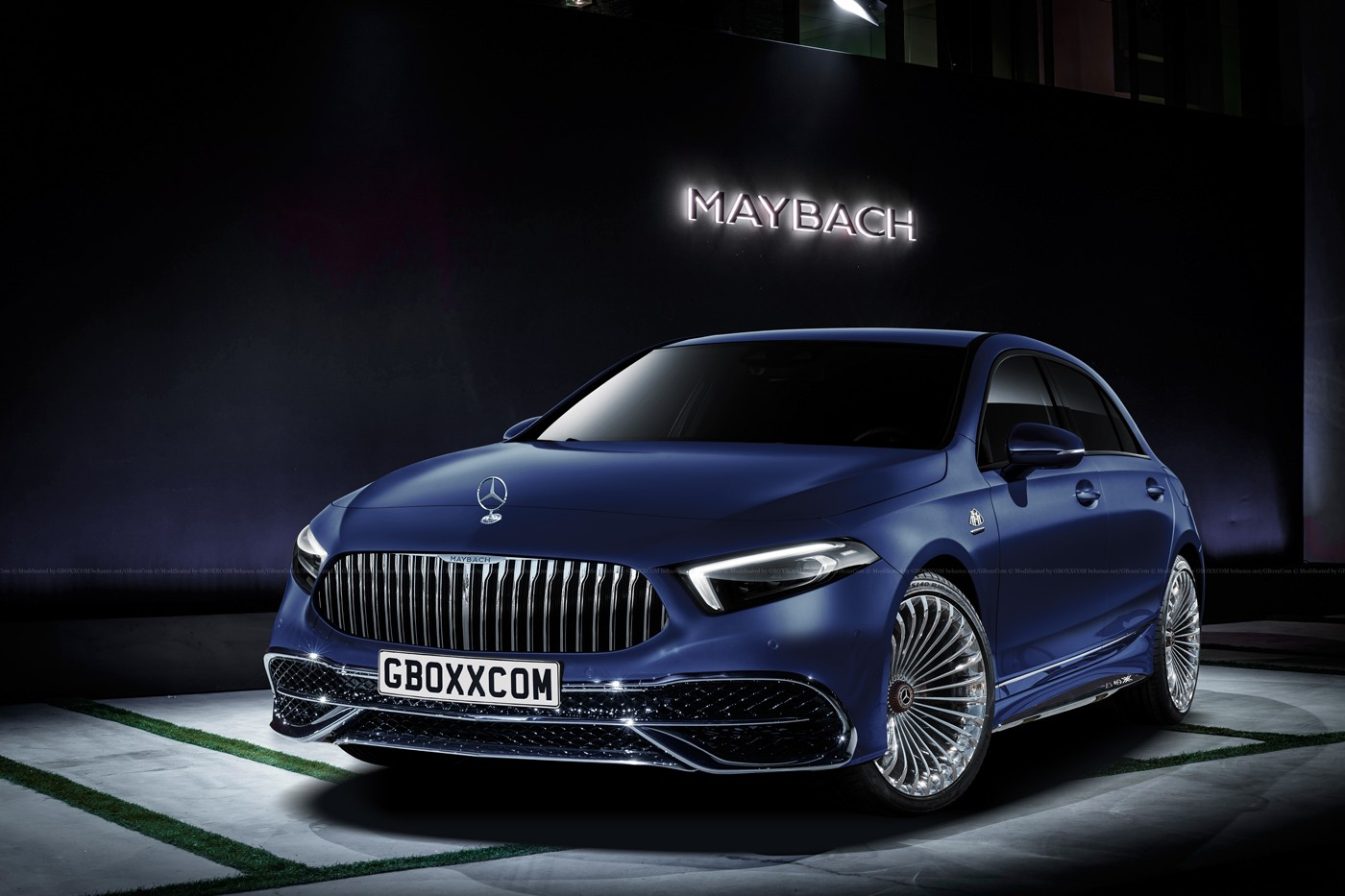 2019 mercedes maybach a class is nothing but wishful thinking autoevolution. Black Bedroom Furniture Sets. Home Design Ideas