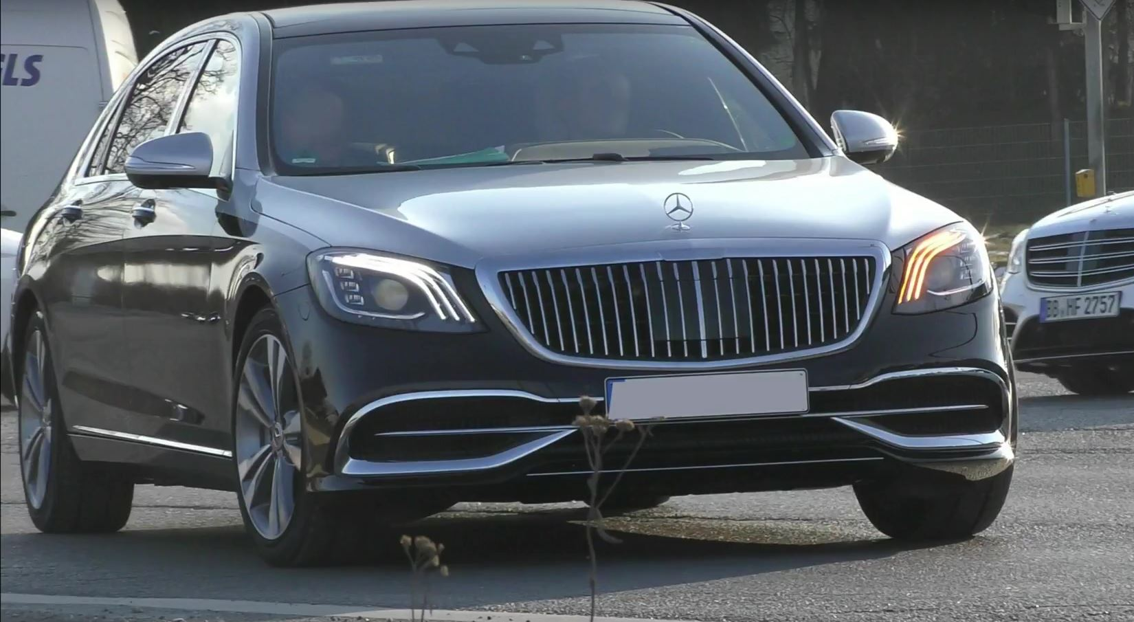 2019 Mercedes-Maybach S-Class Spotted in Germany, Looks ...