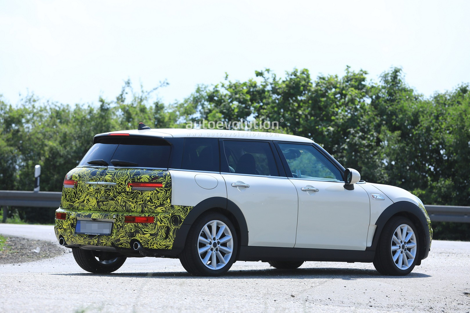 2019 Mini Clubman Facelift Caught For The First Time Could Be