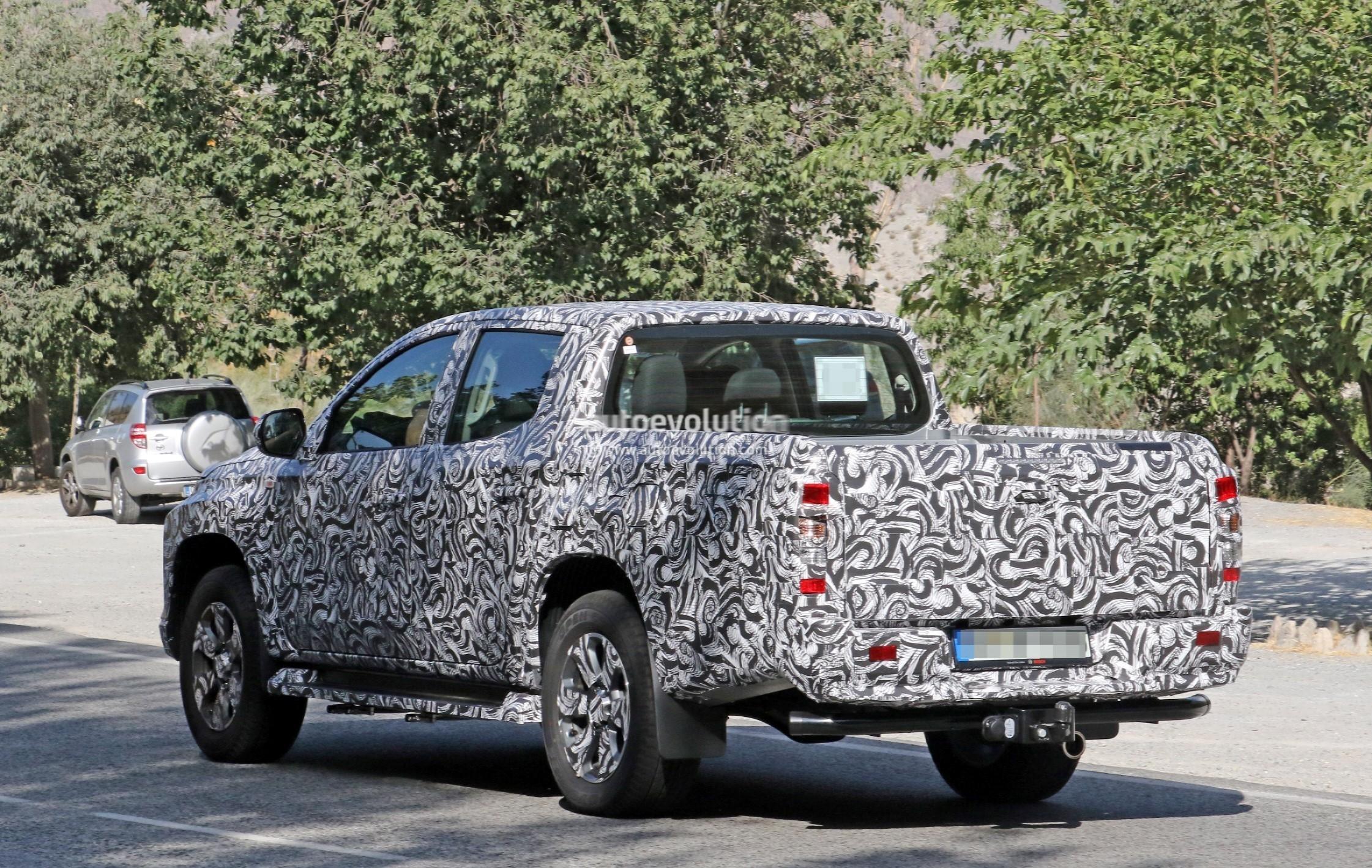 2019 Mitsubishi L200 (Triton) Double Cab Spied Testing ...