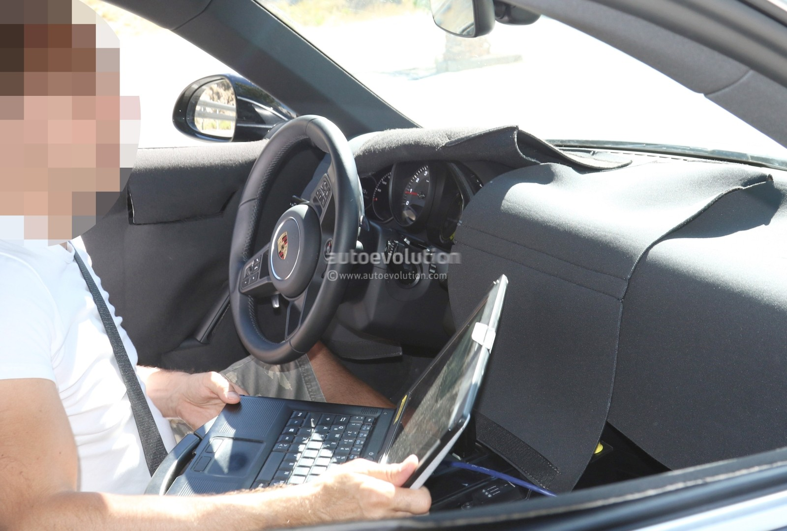 2019 Porsche 911 992 Interior Spied Shows New Steering Wheel