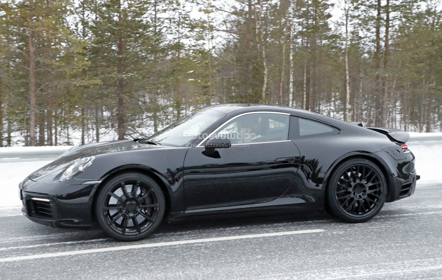 2019 Next Generation Porsche 911 992 Goes Drifting In