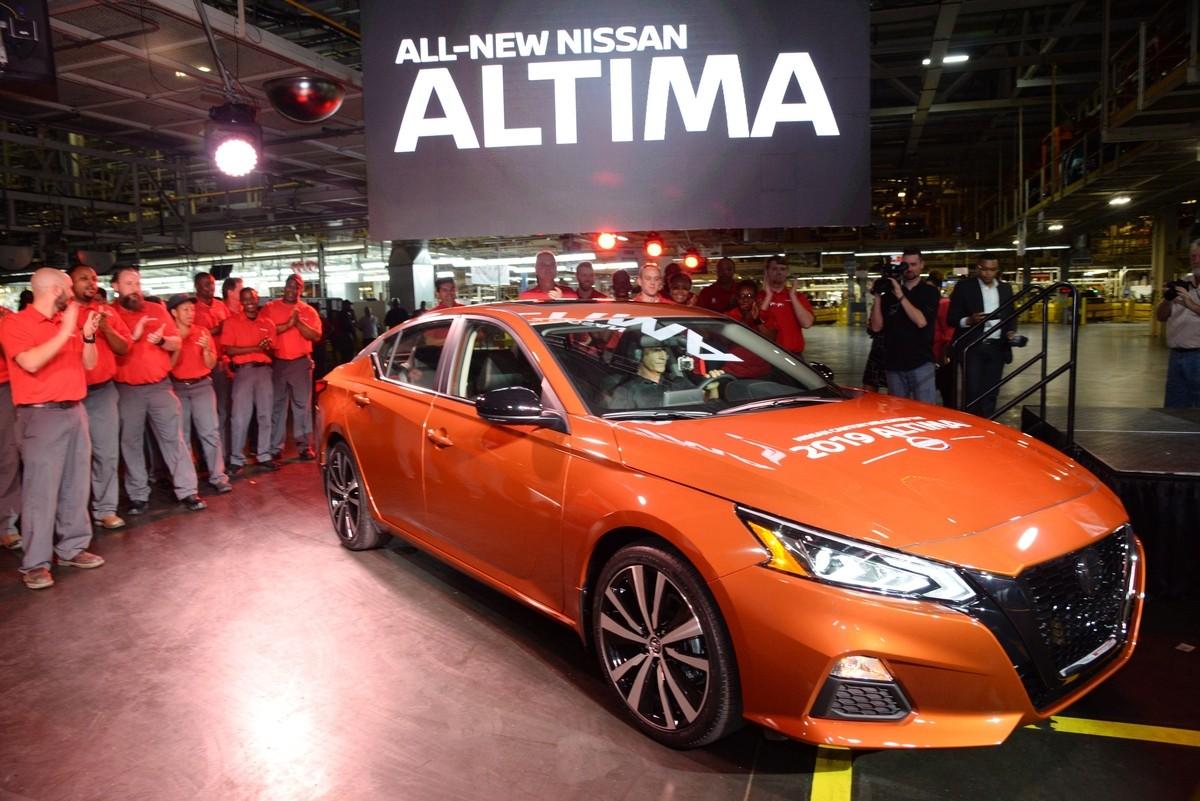 2019 Nissan Altima Priced At $23,750 - autoevolution