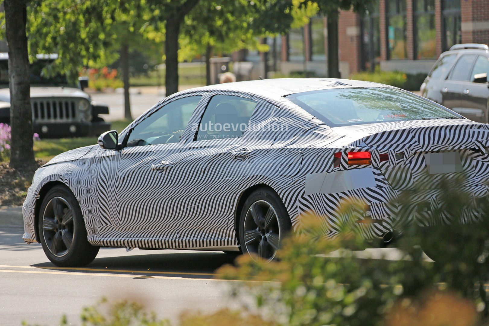 spyshots  2019 nissan altima shows interior  model targets the accord and camry