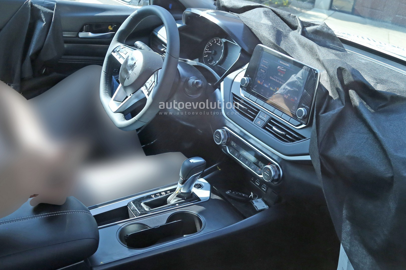 2018 Toyota Camry Inside >> Spyshots: 2019 Nissan Altima Shows Interior, Model Targets The Accord and Camry - autoevolution