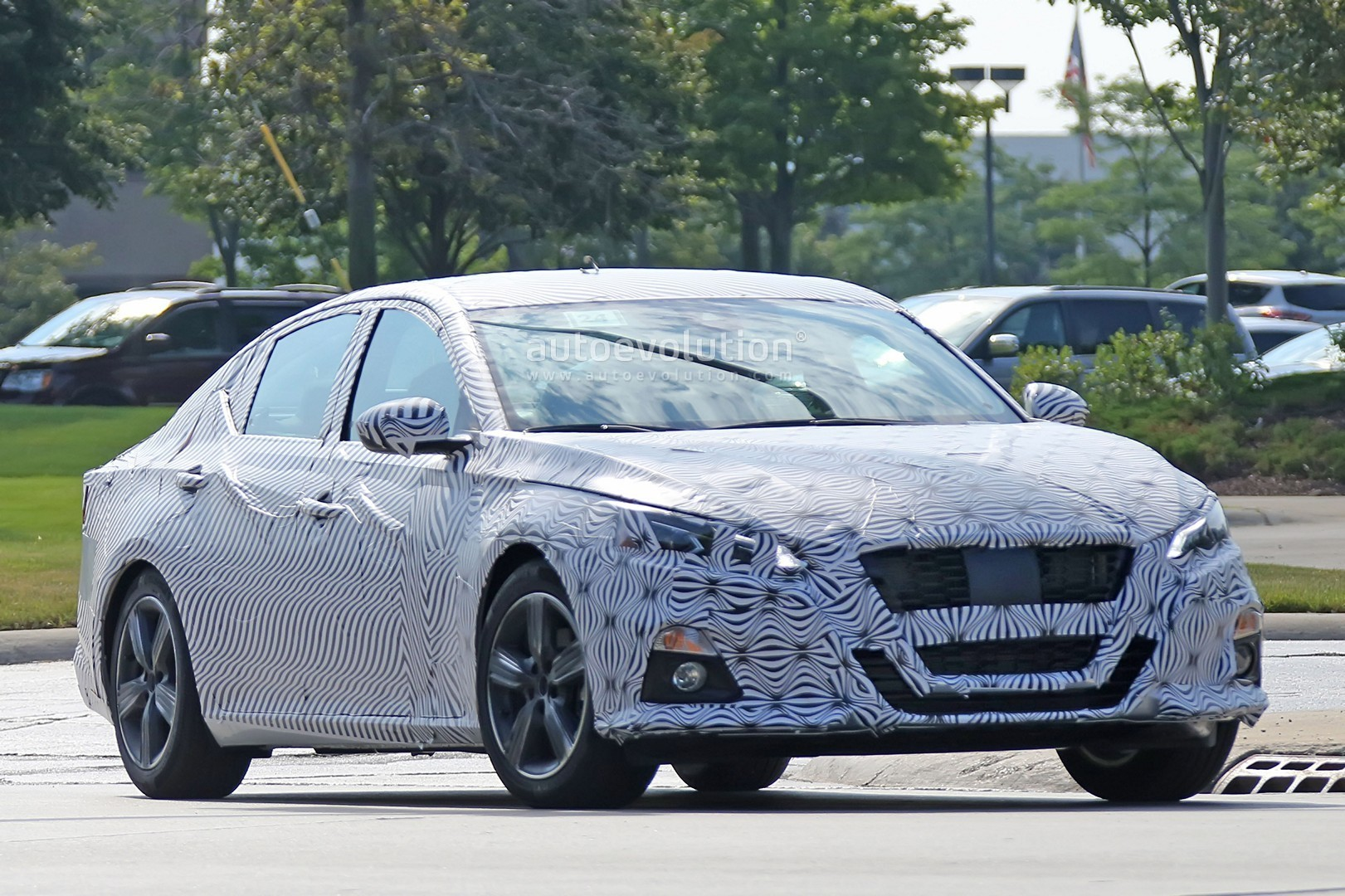 Spyshots 2019 Nissan Altima Shows Interior Model Targets