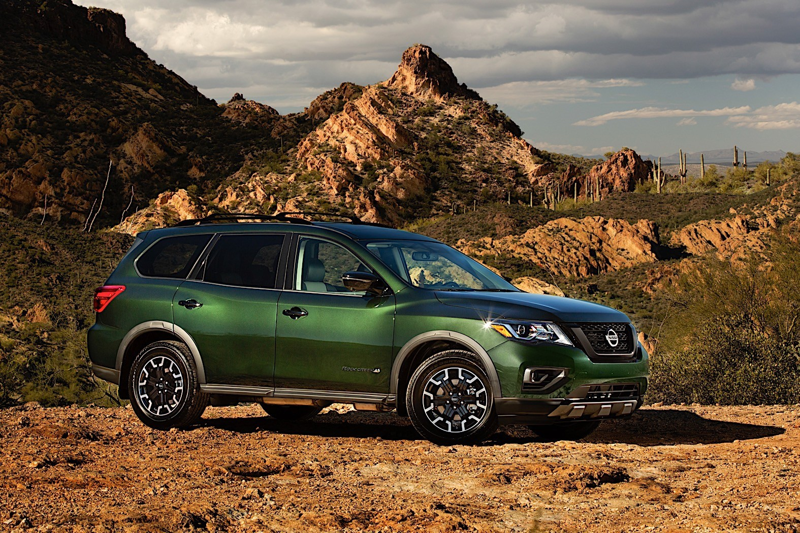 2019 Nissan Pathfinder Tweaked with the Rock Creek Package ...