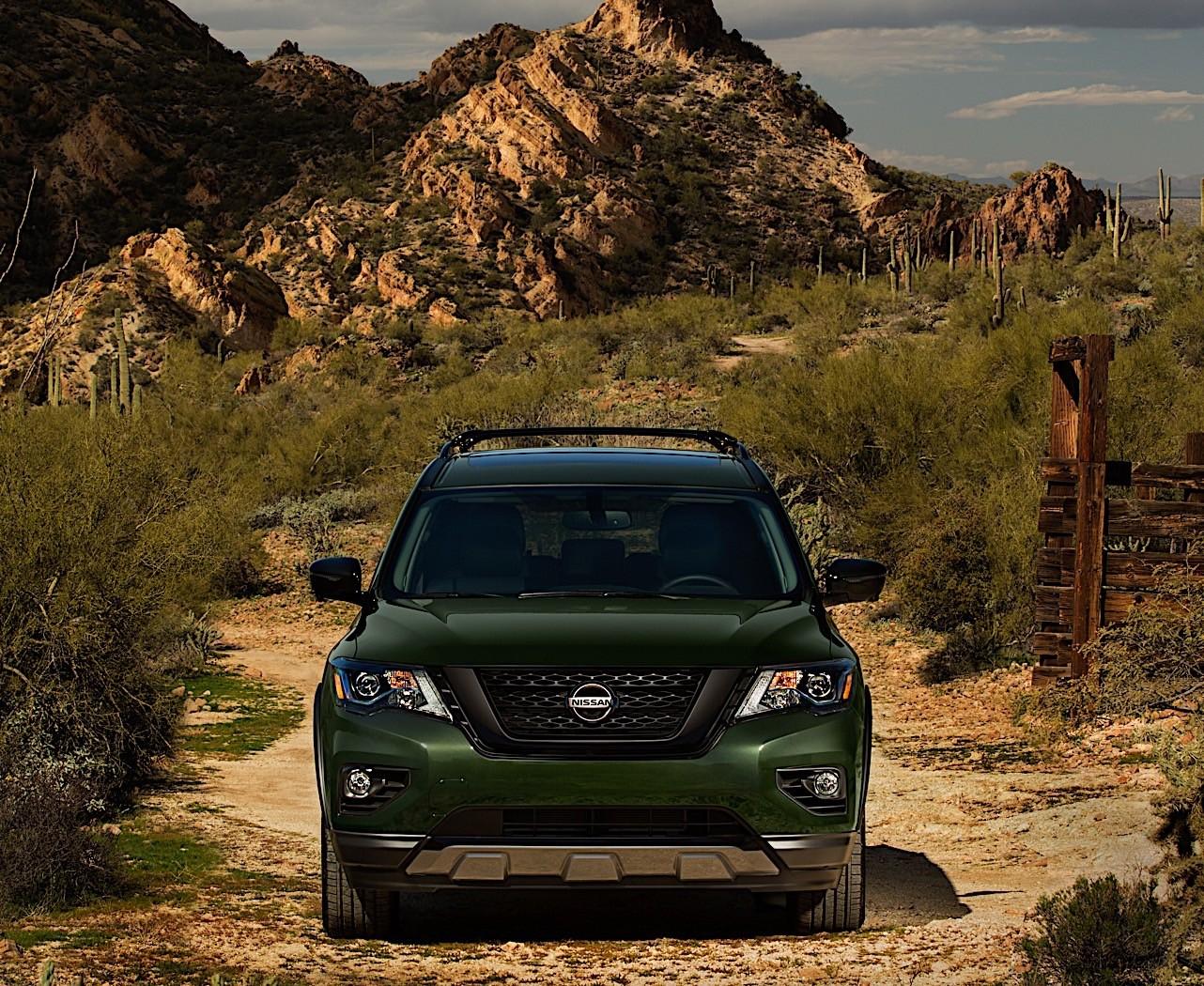 2019 Nissan Pathfinder Tweaked with the Rock Creek Package ...