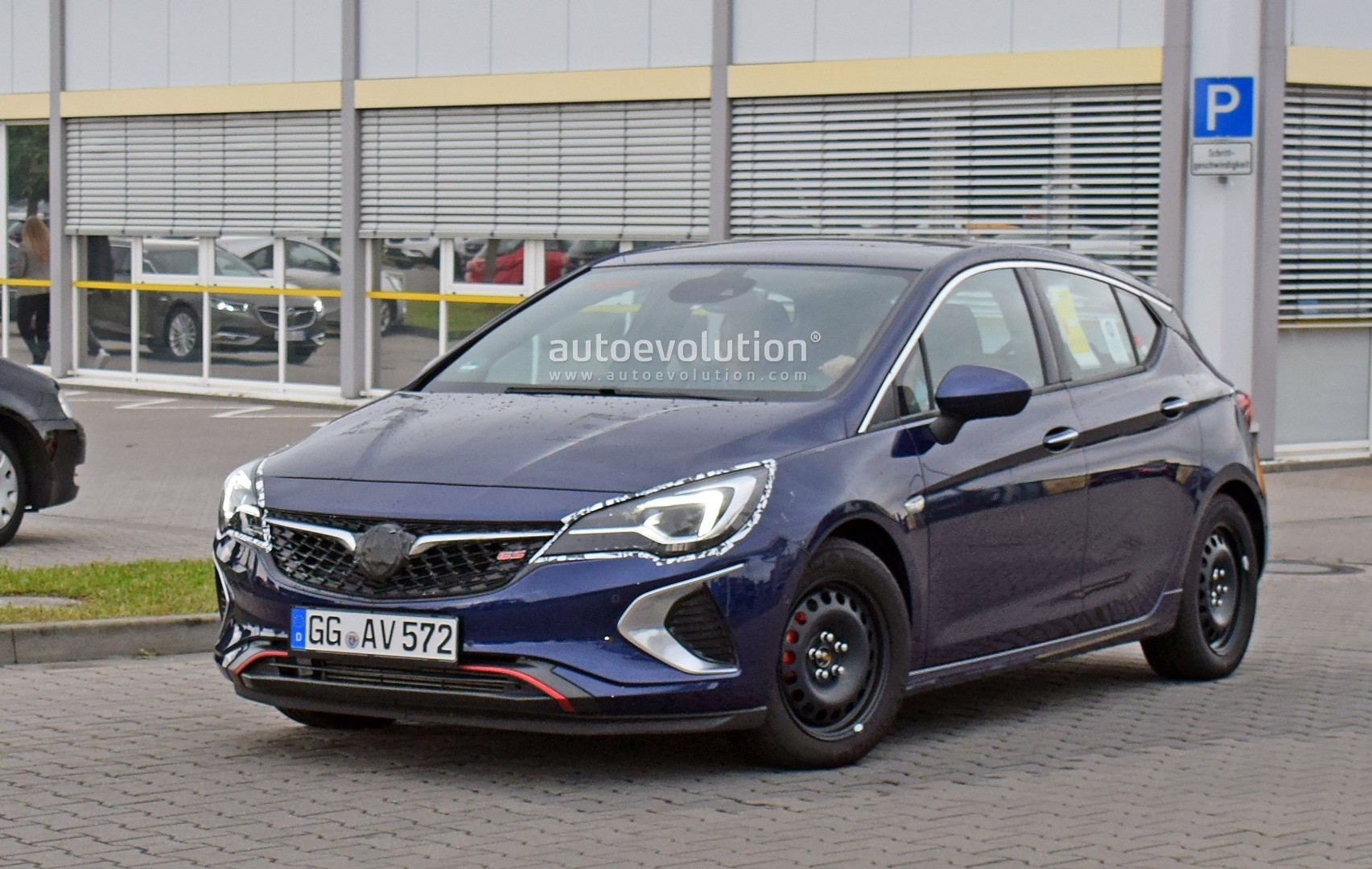 spyshots 2019 opel astra facelift testing in germany