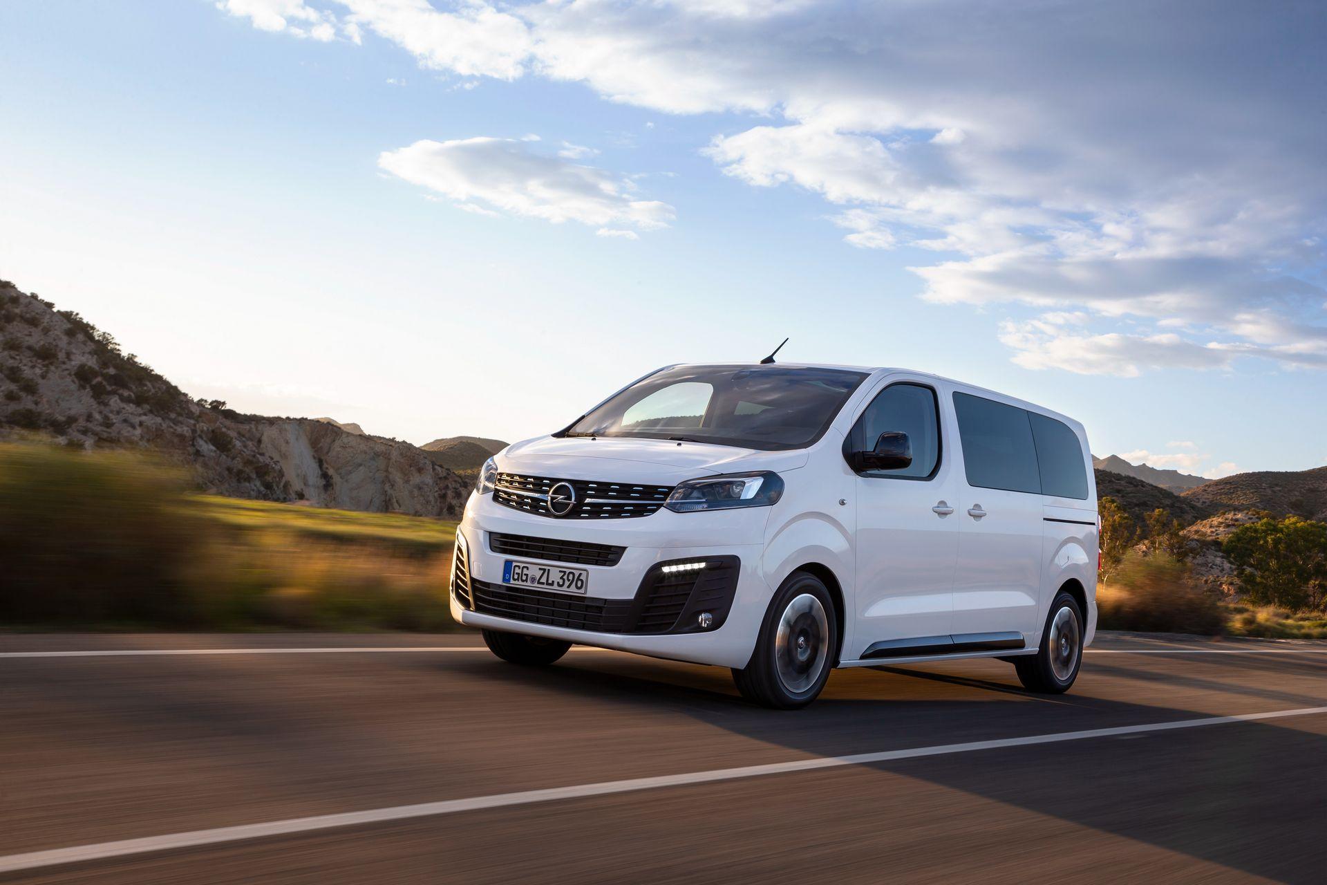 2019 Opel Zafira Life Vauxhall Vivaro Life Revealed Ev Incoming