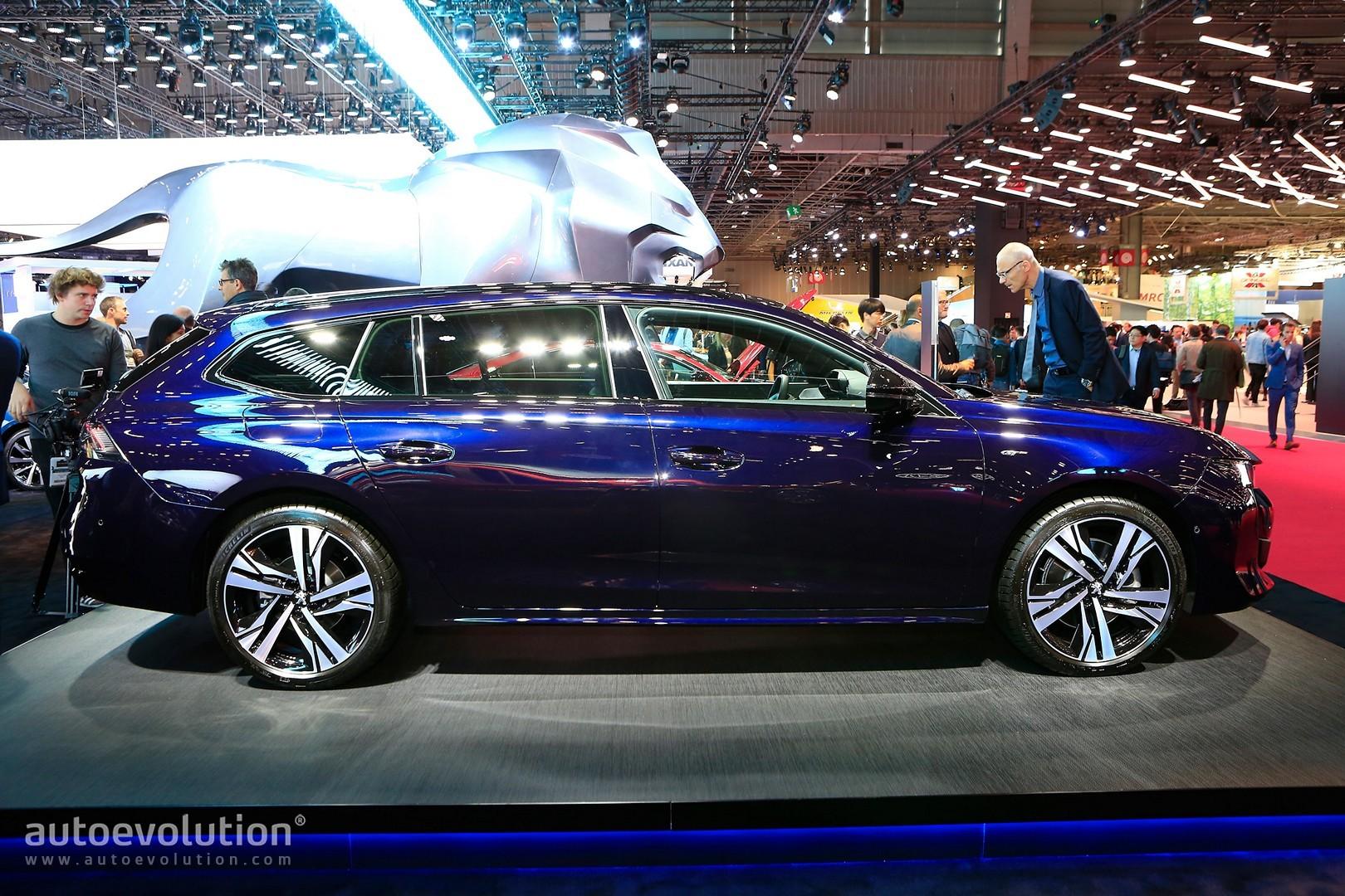 2019 Peugeot 508 Gt Is A 225 Hp Lightweight Wagon In Paris