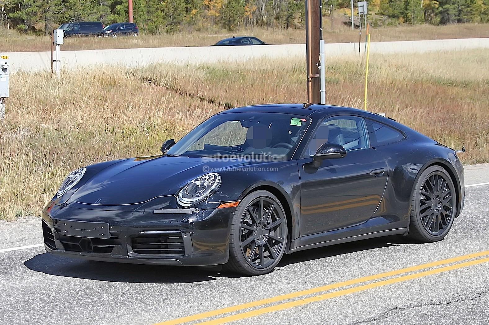 2019 Porsche 911 Flies on Nurburgring While Hybrid Rumors ...
