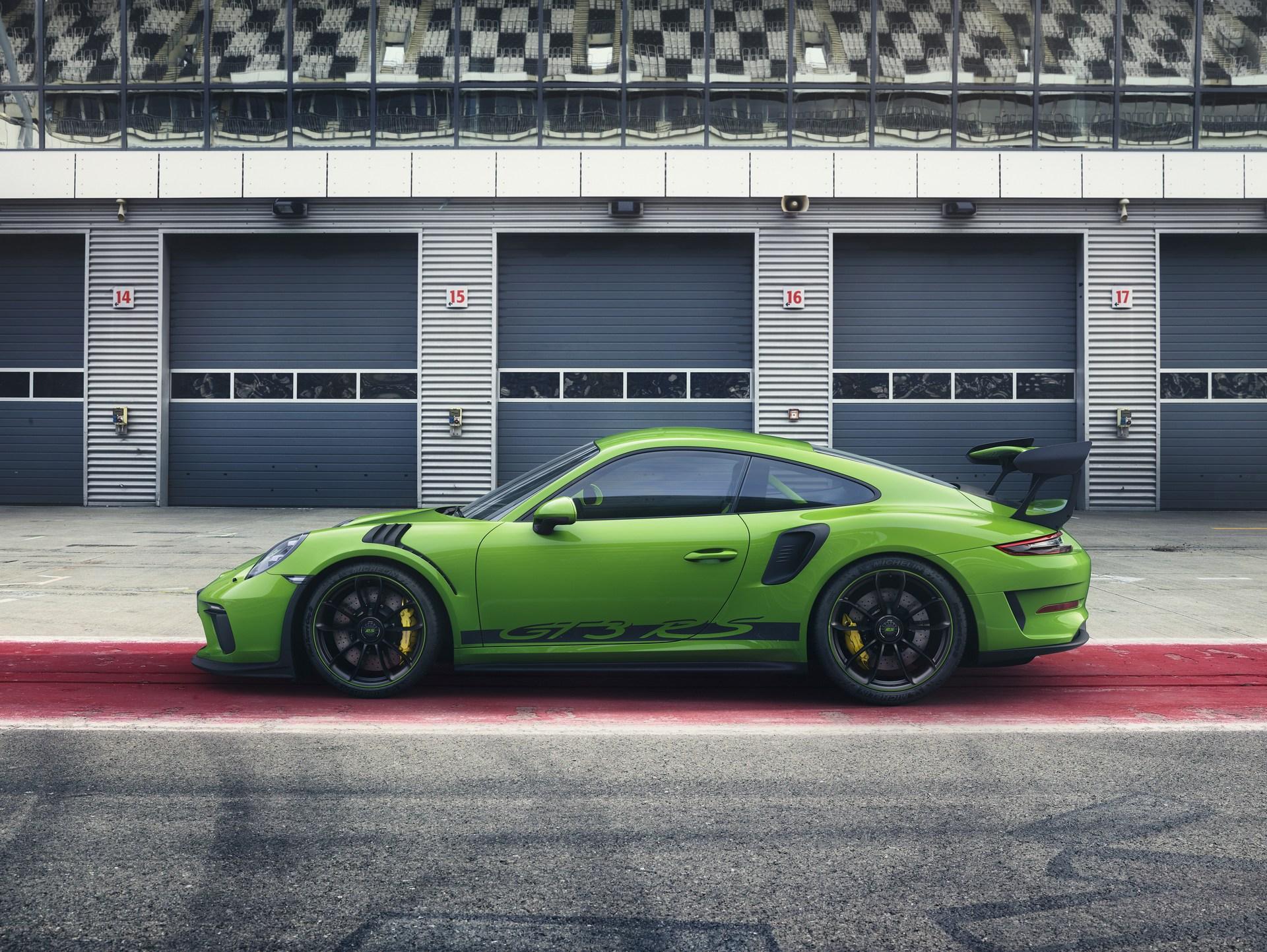 2019 Porsche 911 Gt3 Rs Gets Weissach Package Sub 7