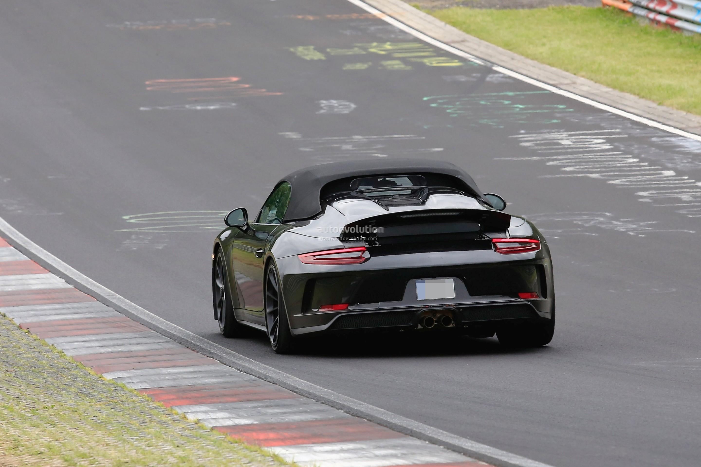 2019 Porsche 911 Speedster Prototype Reveals Production