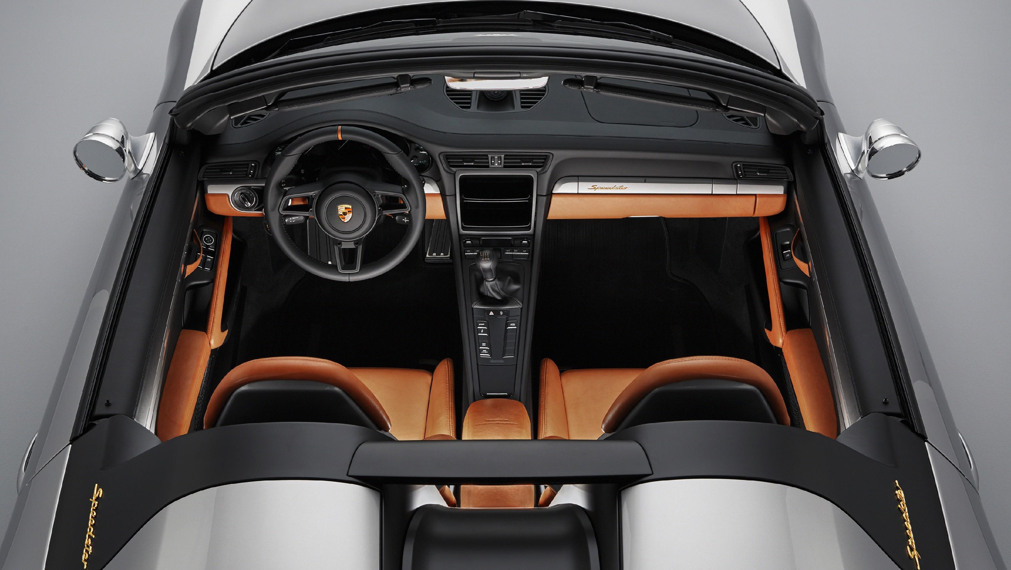 2019 Porsche 911 Speedster Spotted In Traffic Debut