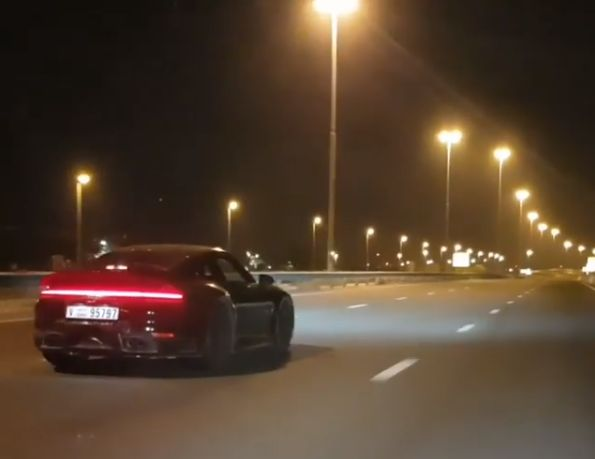 2019 Porsche 911 Spotted In Dubai Traffic Launch Imminent