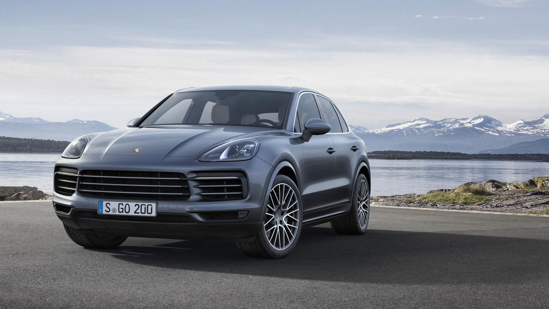2019 Porsche Cayenne Revealed 65 Kg Lighter Two V6 Engines And Tungsten Brakes