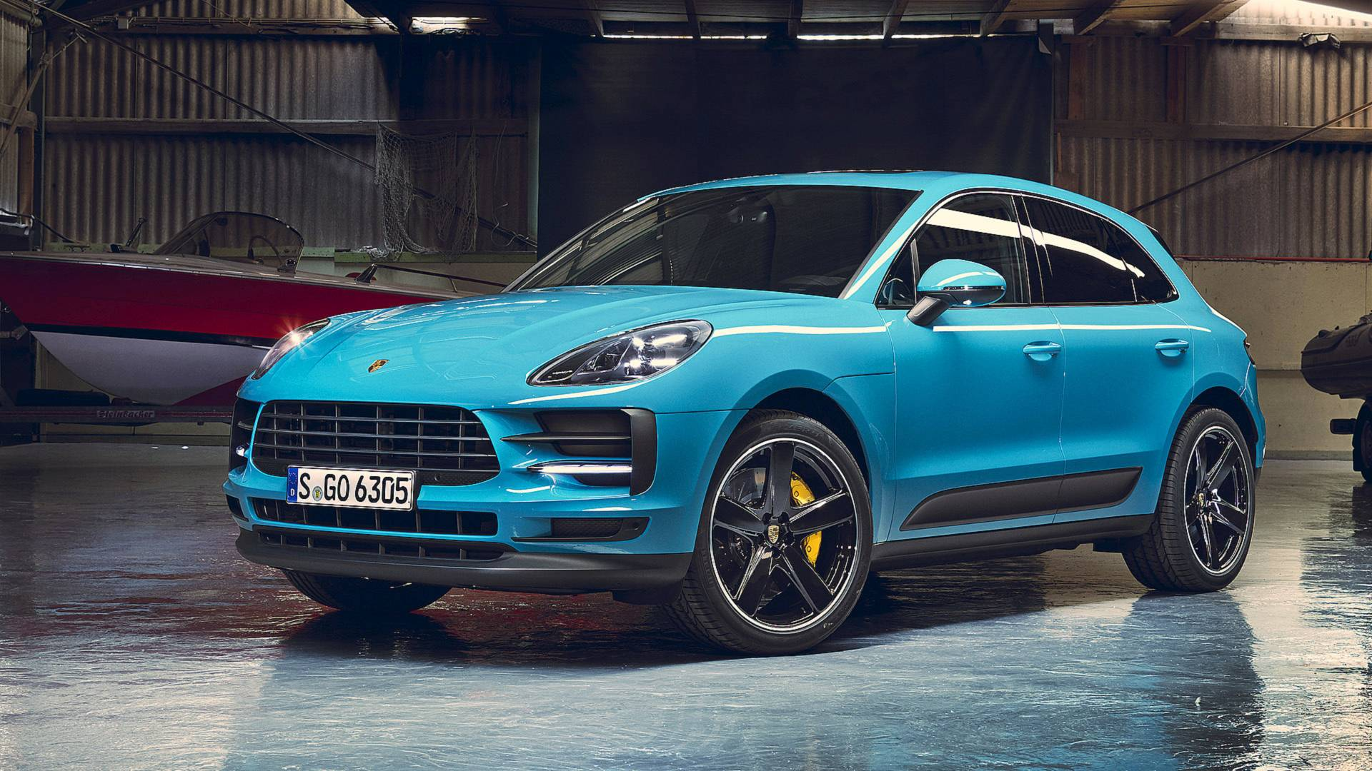rendering porsche macan coupe looks ready to take on. Black Bedroom Furniture Sets. Home Design Ideas