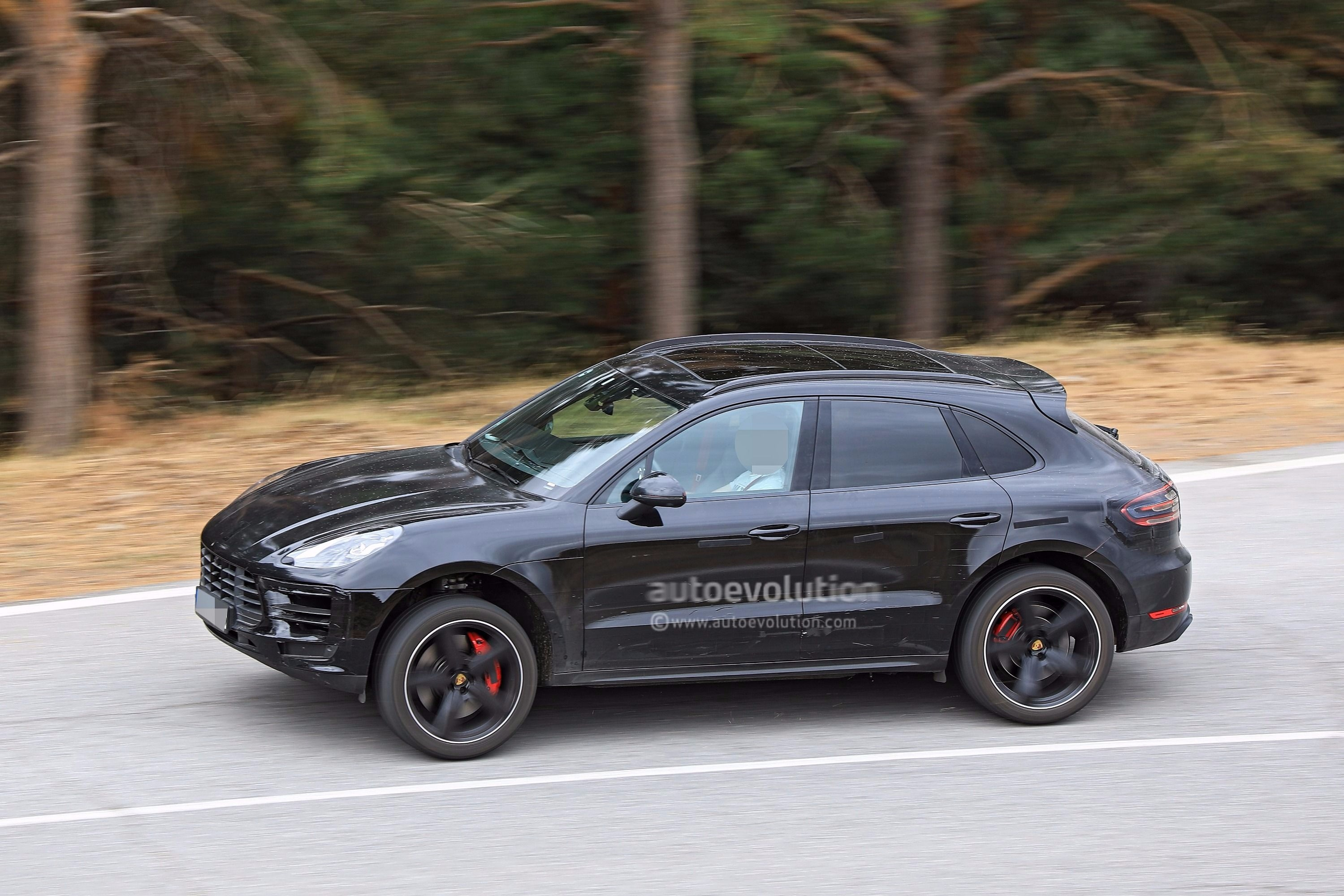 Spyshots 2019 Porsche Macan Prototype Poses For The Camera