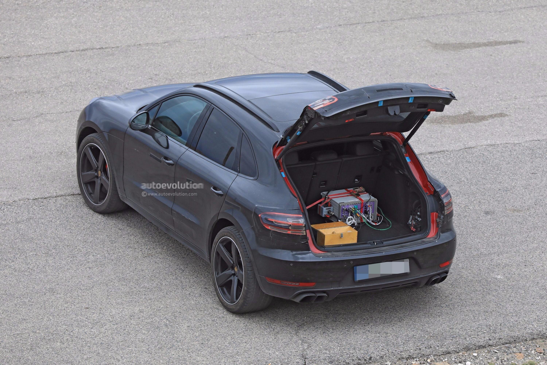 Spyshots 2019 Porsche Macan Prototype Poses For The