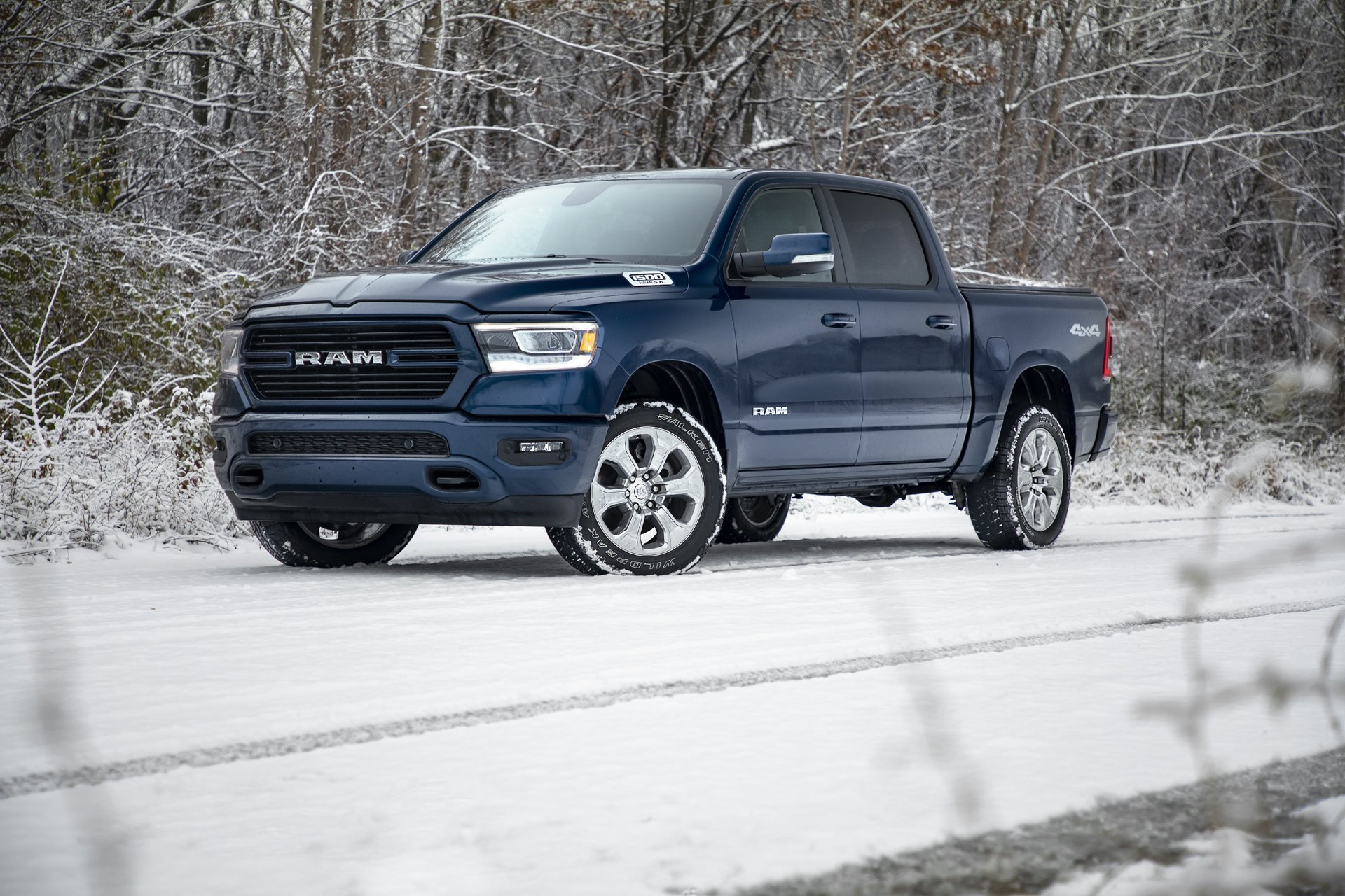 2019 Ram 1500 North Edition Features Factory Lift Kit