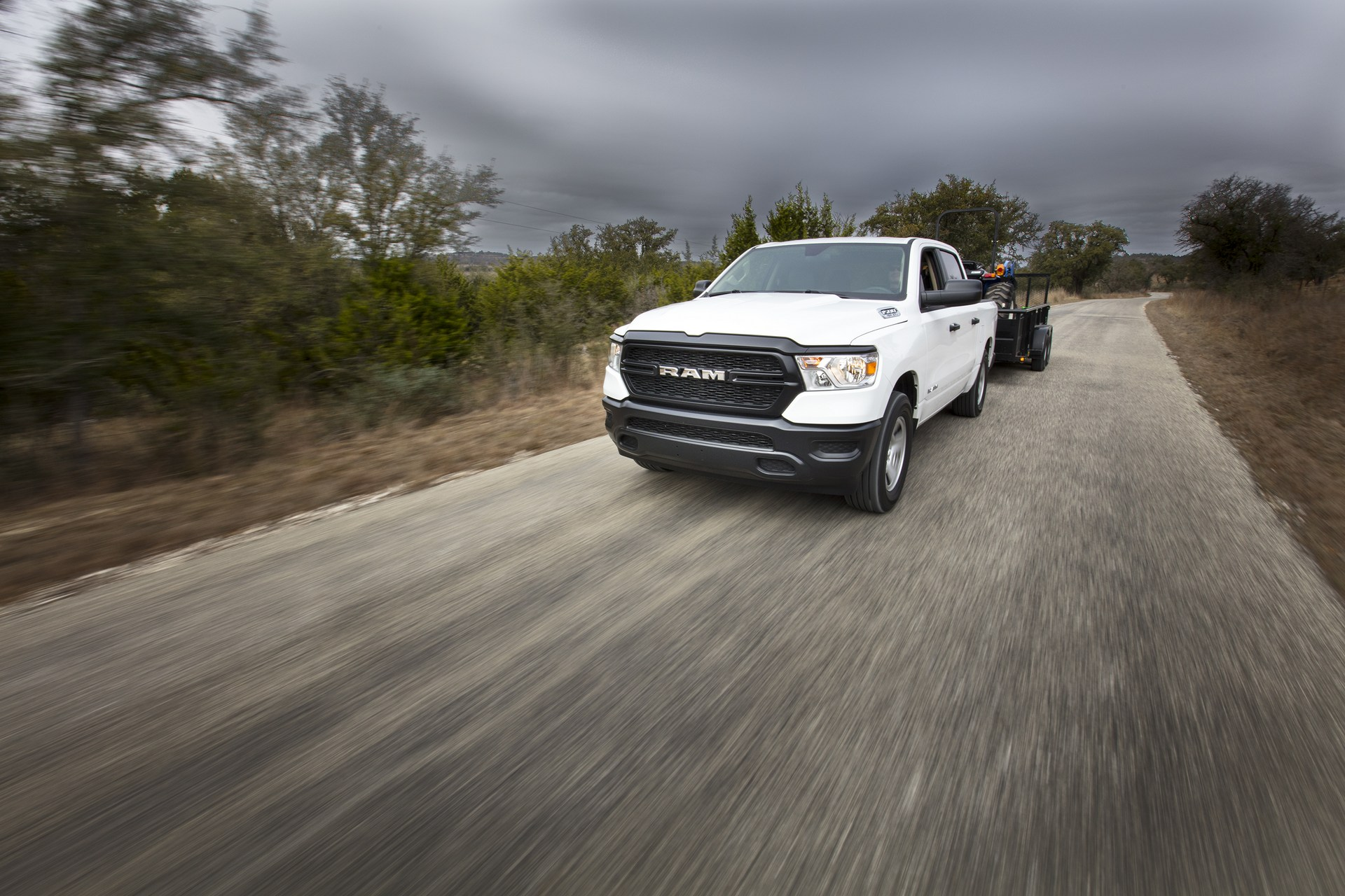 2019 Ram 1500 Tradesman Debuts With Standard Mild-Hybrid ...